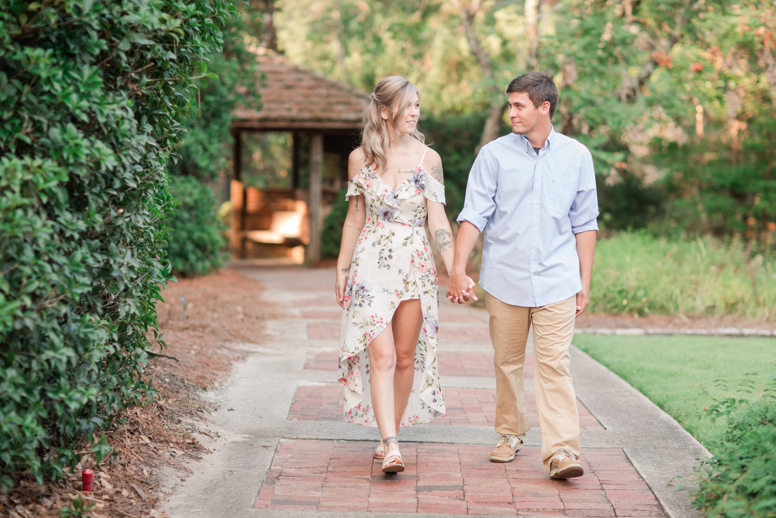 Jennifer B Photography-Sandhills Horticultural Gardens Engagement-Pinehurst NC-Cody and Kayla-2019-0014