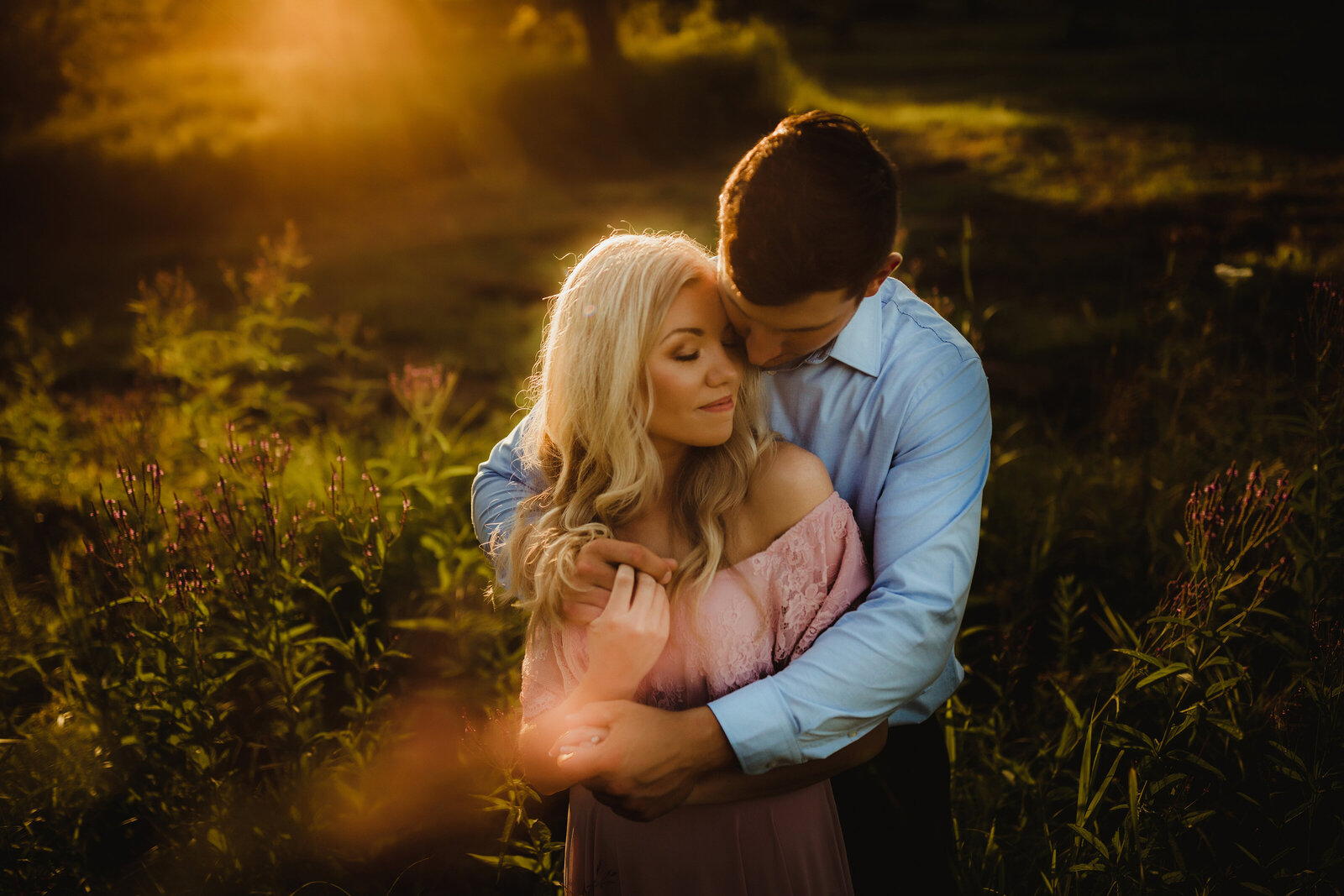 appleton engagement session