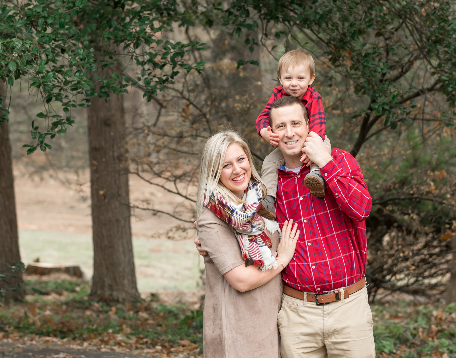 Burnside Family Holiday portraits