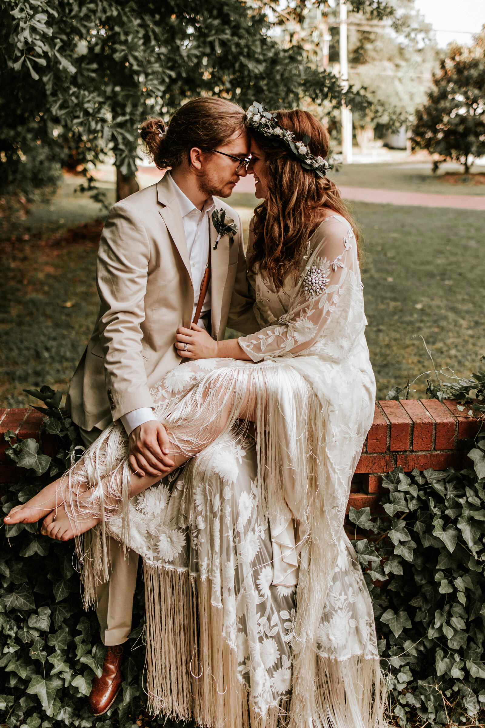 J.Michelle Photography photographs bride and groom at Athens, Ga Wedding
