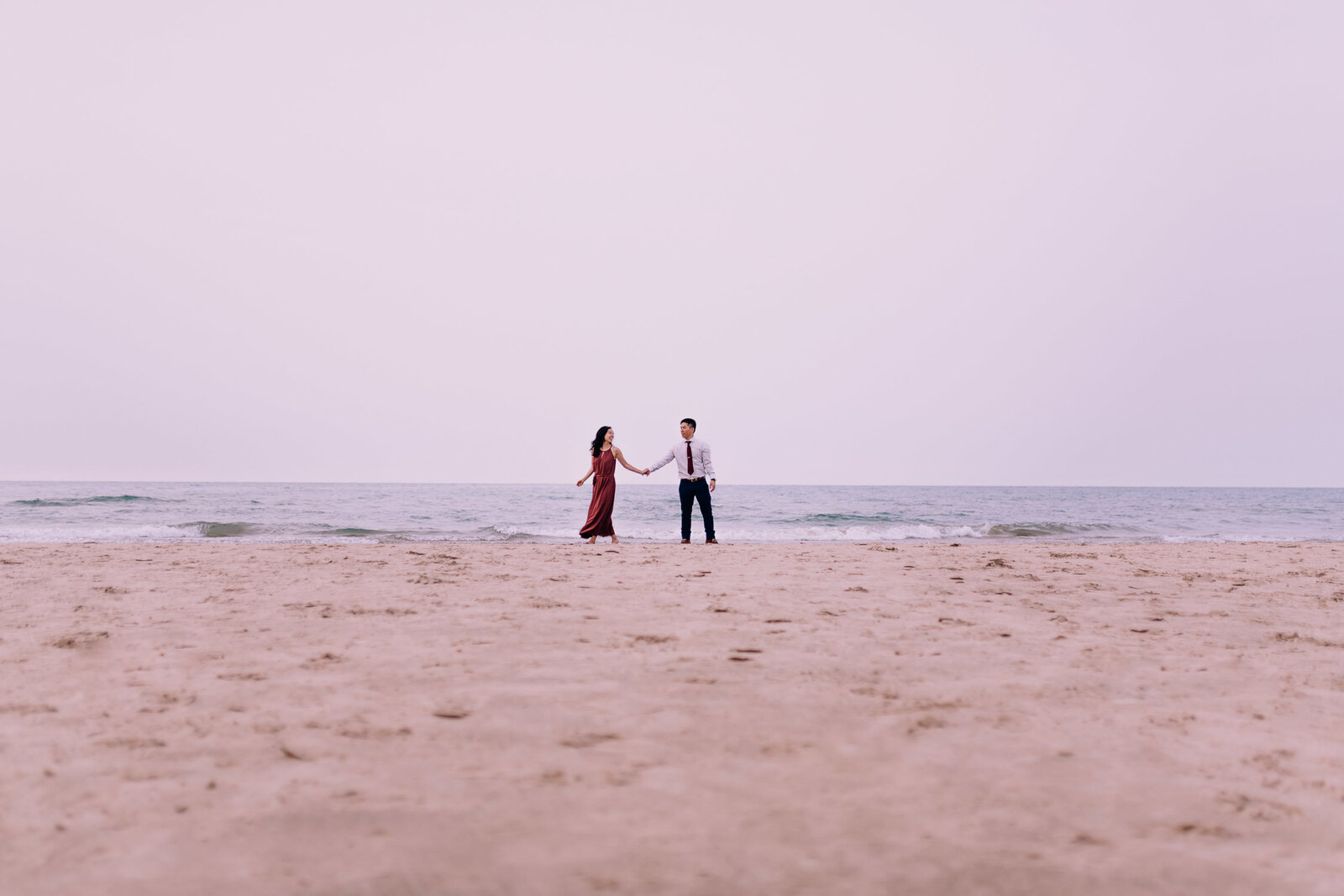 erica-andrew-downtown-chicago-engagement-photography-videography-montrose-beach-5