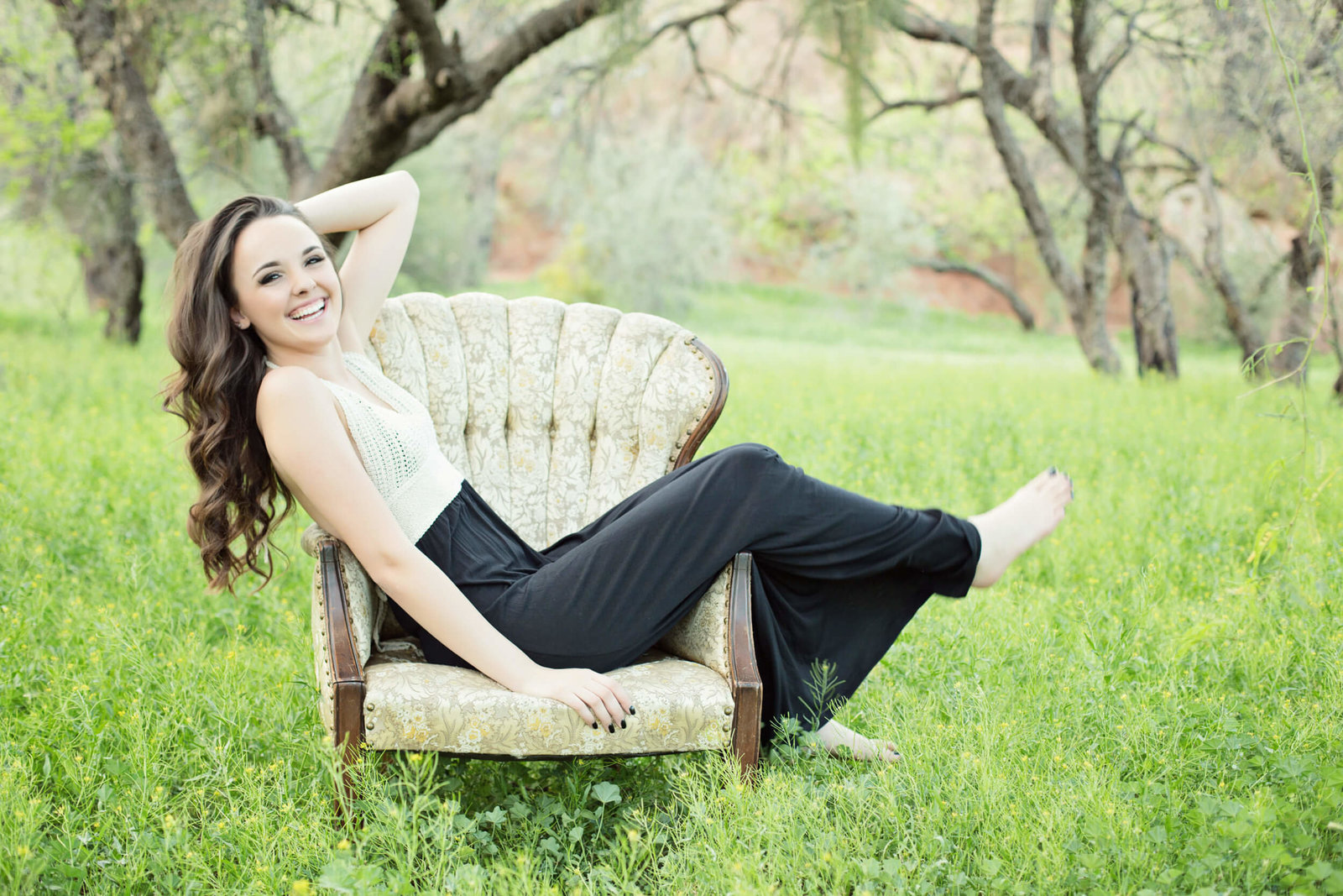 stylish outdoor senior girl photography phoenix