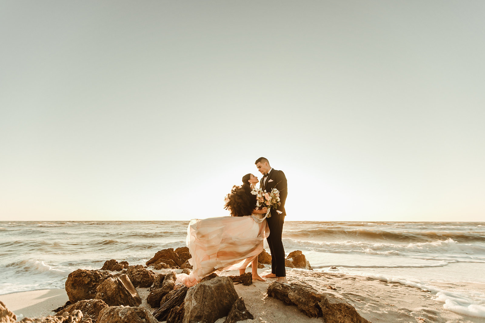 Celestial wedding inspiration_ beach elopement style-116