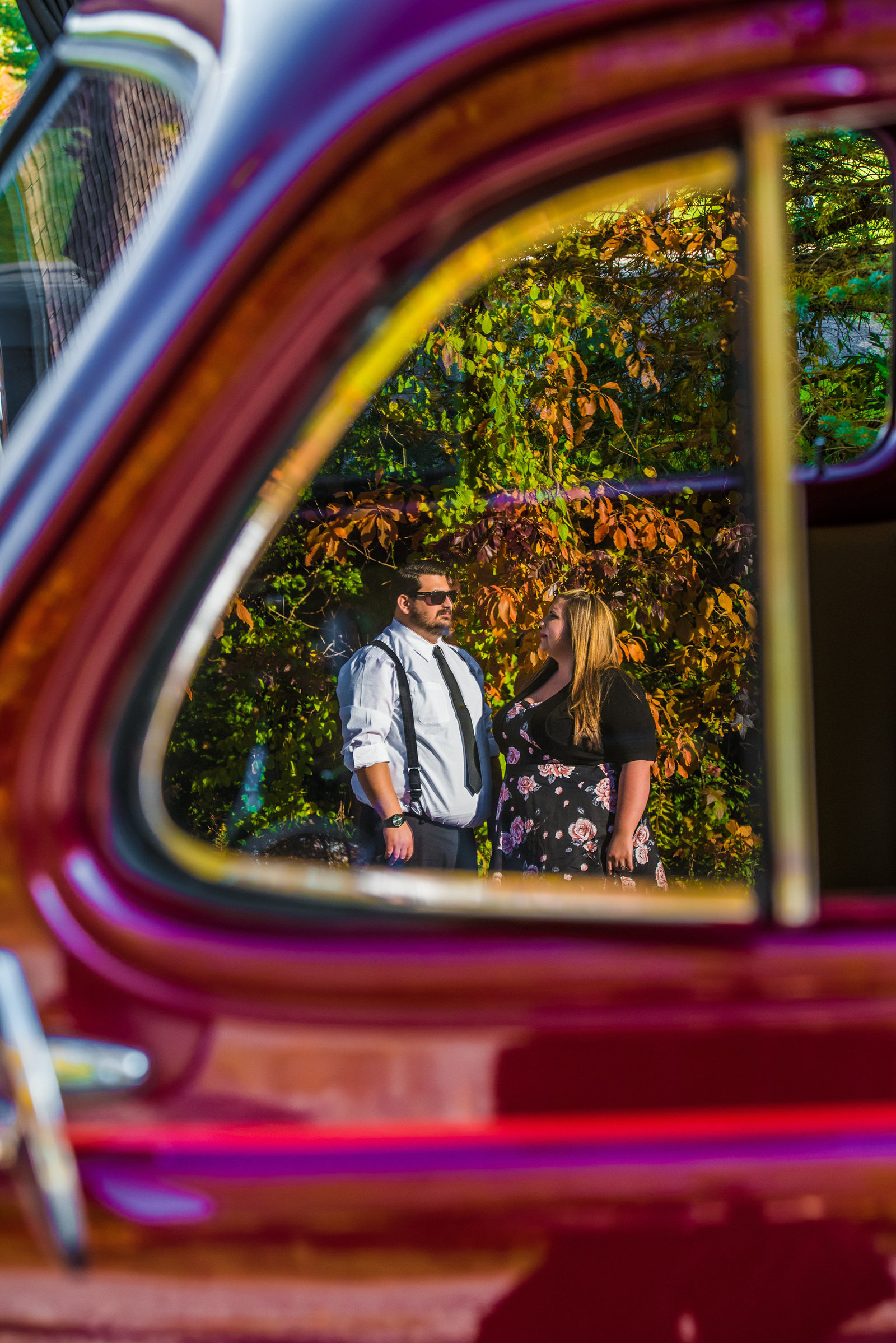 Retro_Pinup_Car_engagement_session_Nj036