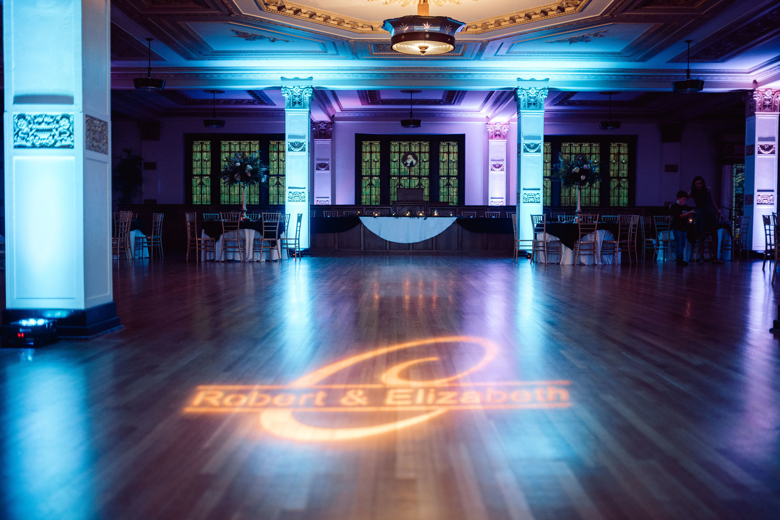 Arkansas reception wedding dance floor / Sterling Imageworks