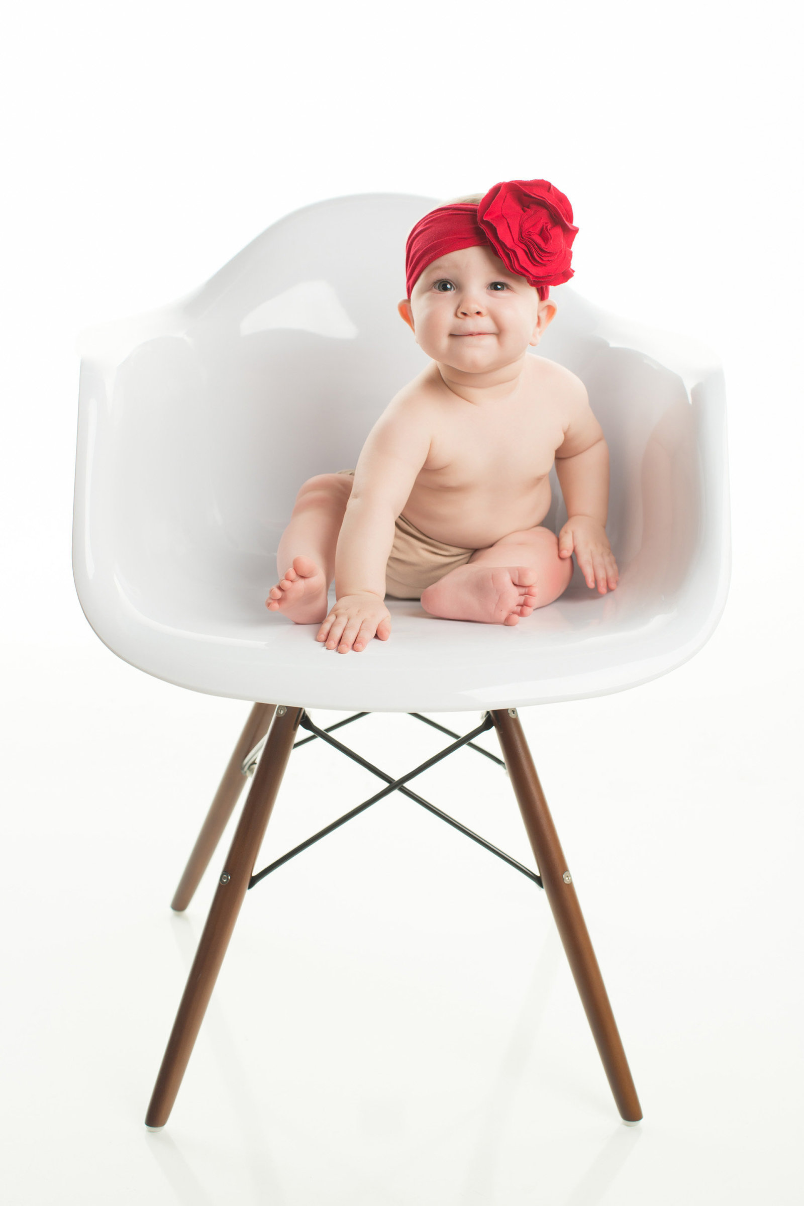 red headband baby girl photography phoenix