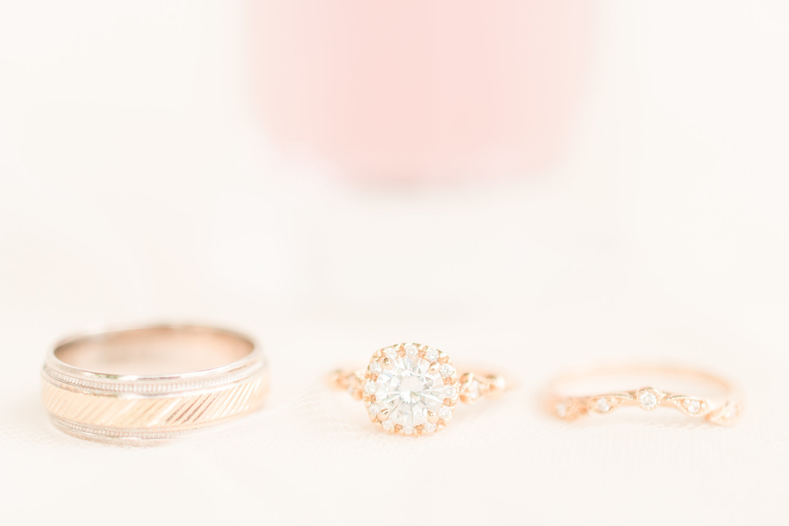 Blush and Cream 1899 Wedding