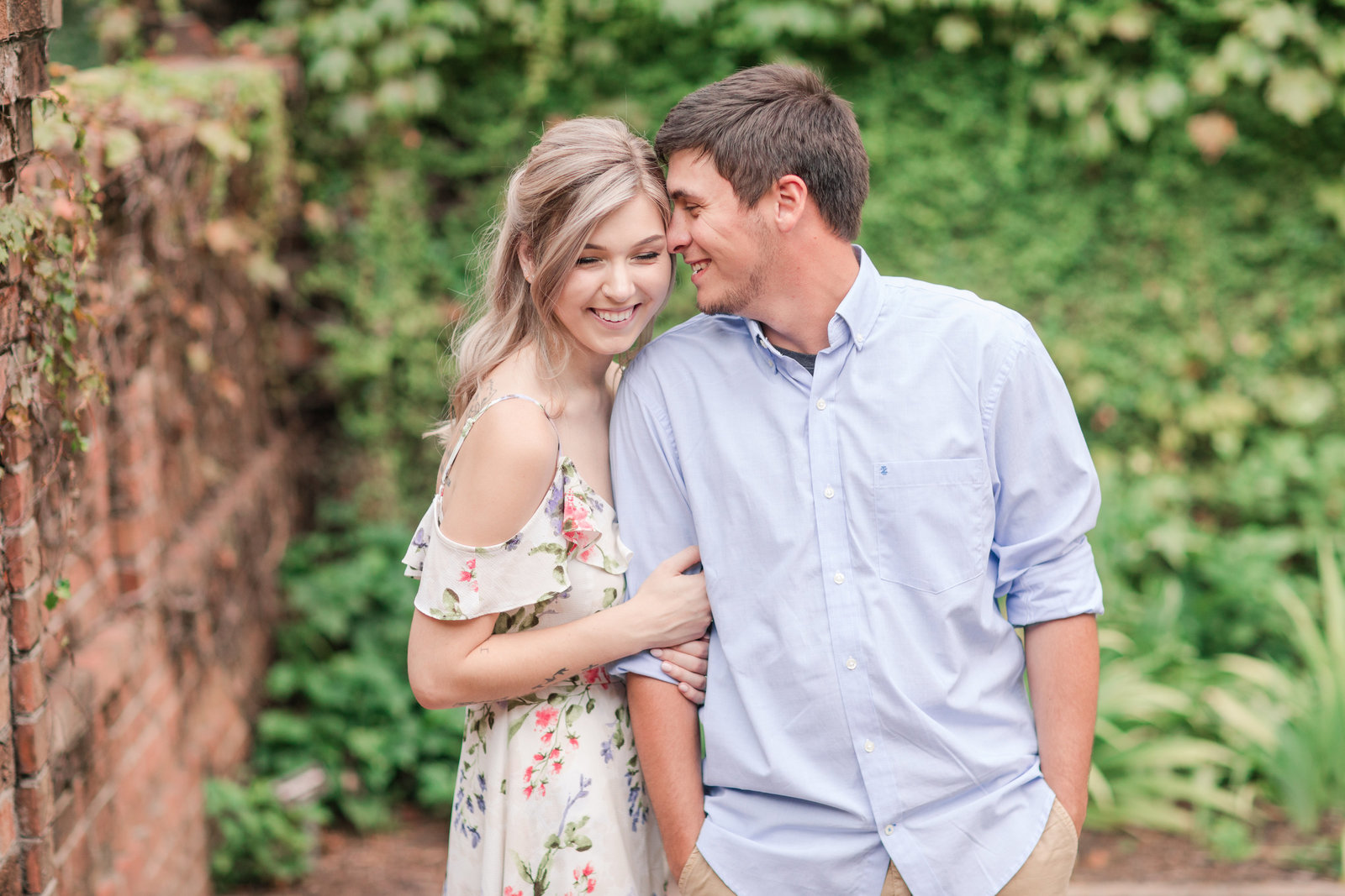 Jennifer B Photography-Sandhills Horticultural Gardens Engagement-Pinehurst NC-Cody and Kayla-2019-0108