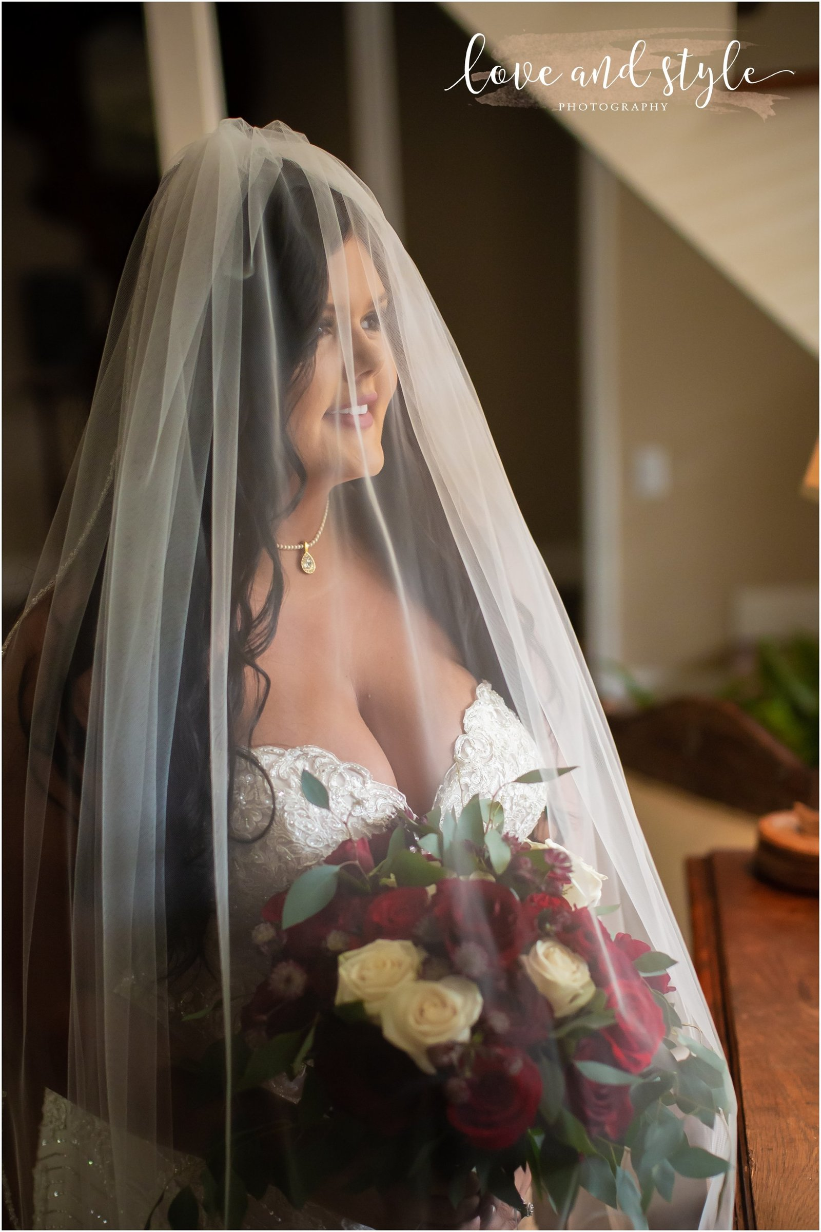 Bride getting ready at The Barn at Chapel Creek, Sarasota Florida