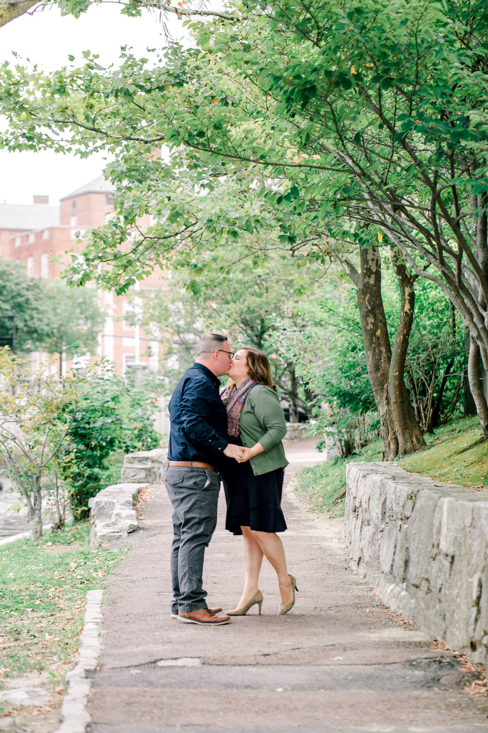 waterplace park providence engagement portraits