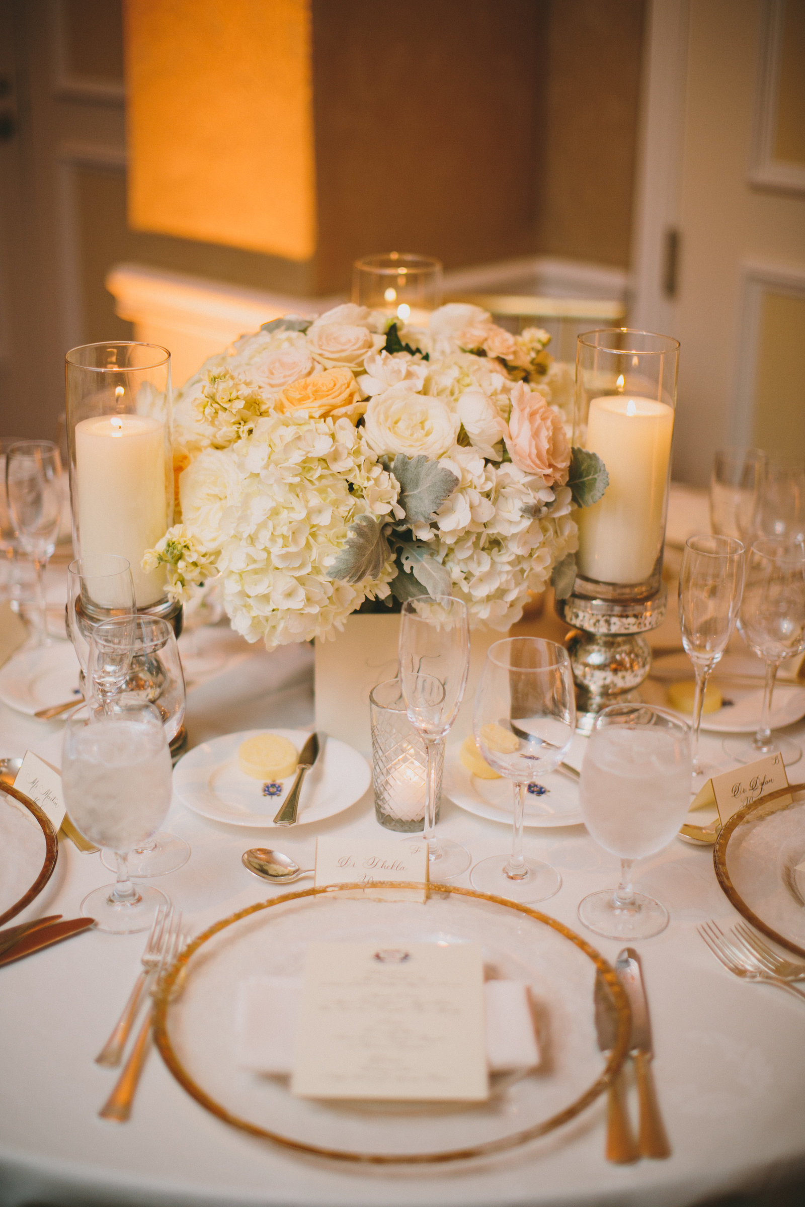luxury wedding reception with florals from jackson durham