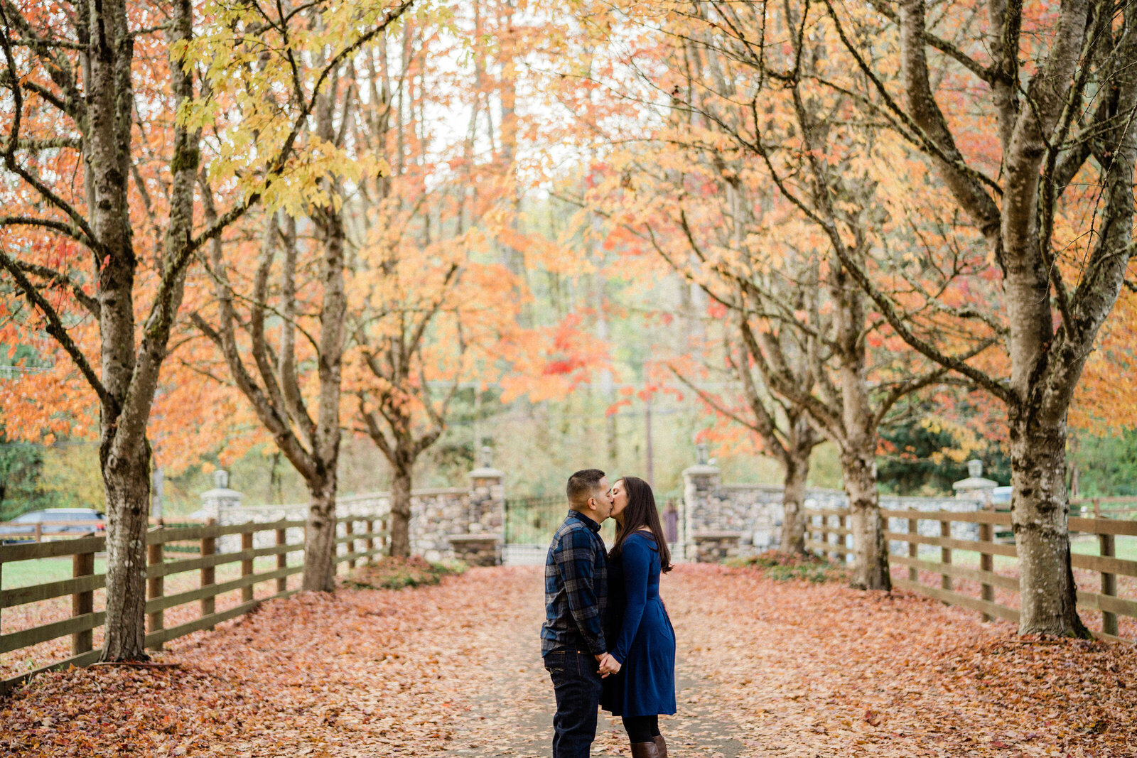 Love and romance fill the air at Rockwood Farm, top engagement photography location in Seattle