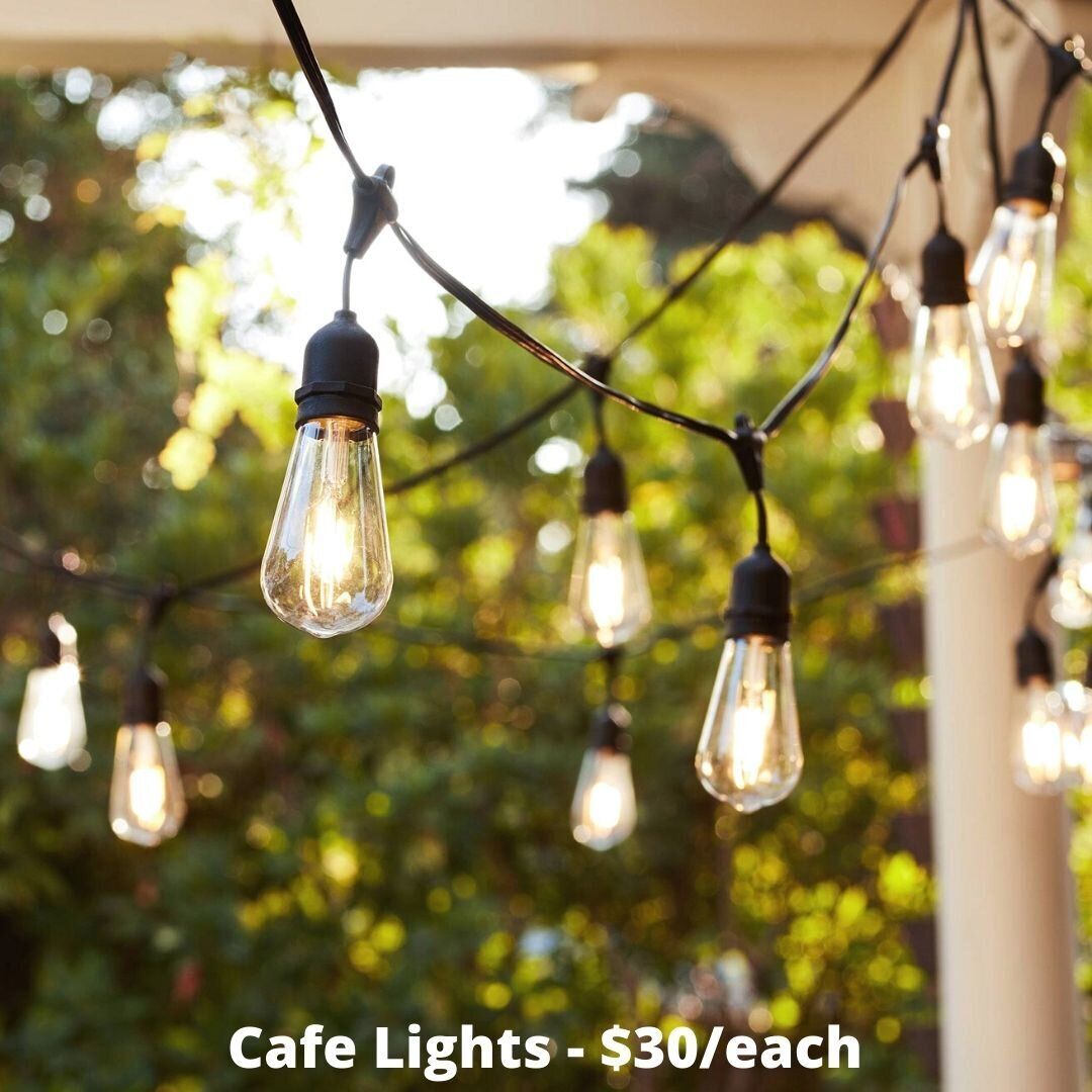 cafe lights