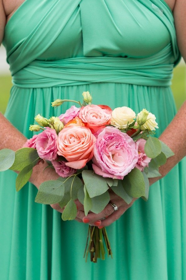 Bridal bouquet by the Blue Chrysanthemum photos by Styled Pink Photography