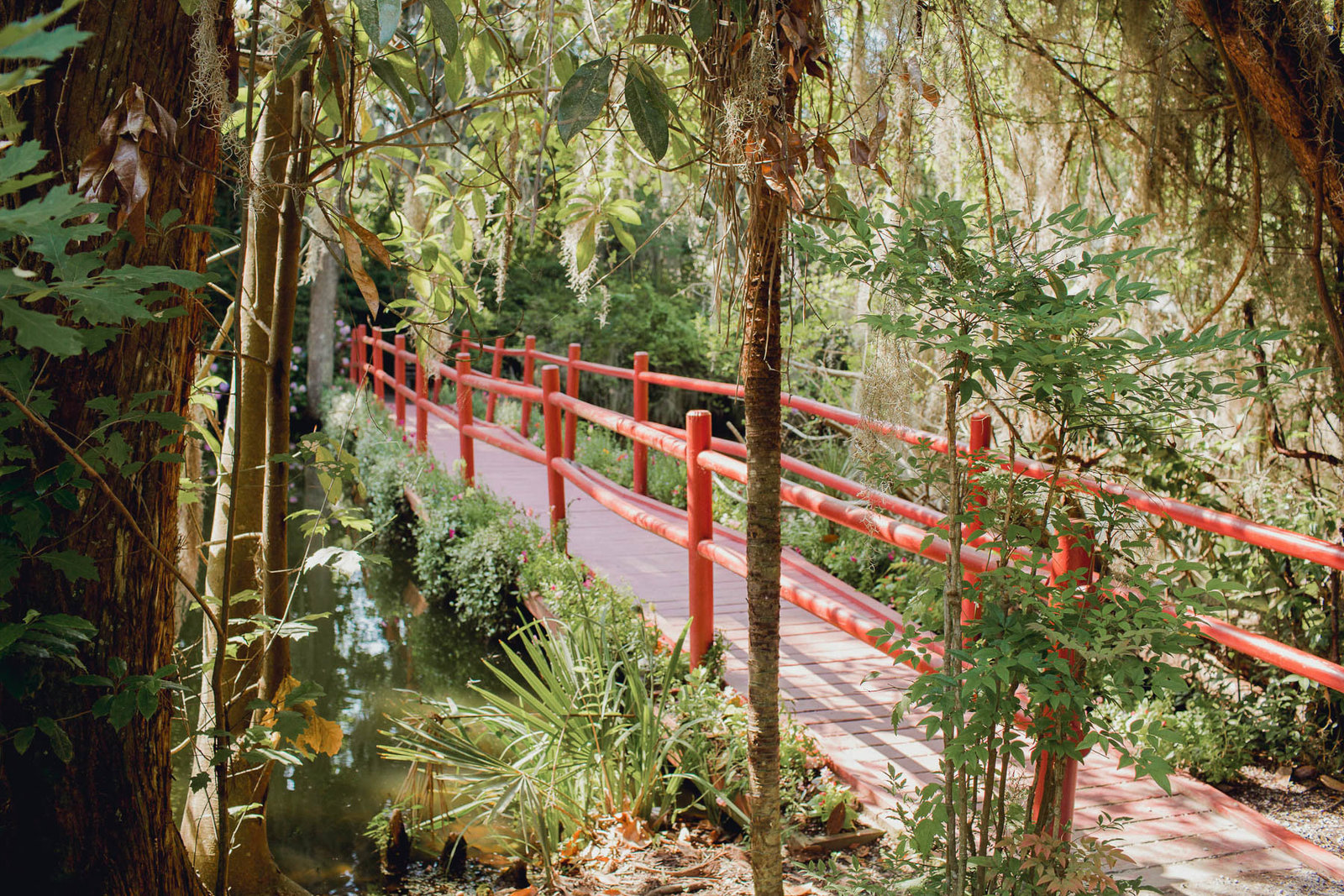 Red Bridge, Magnolia Plantation, Charleston, SC