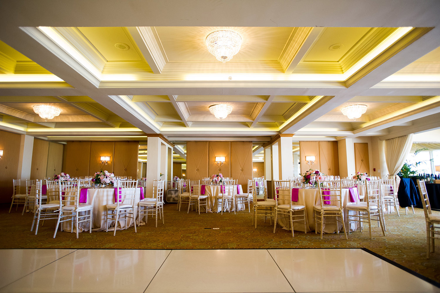 La Valencia Wedding Reception