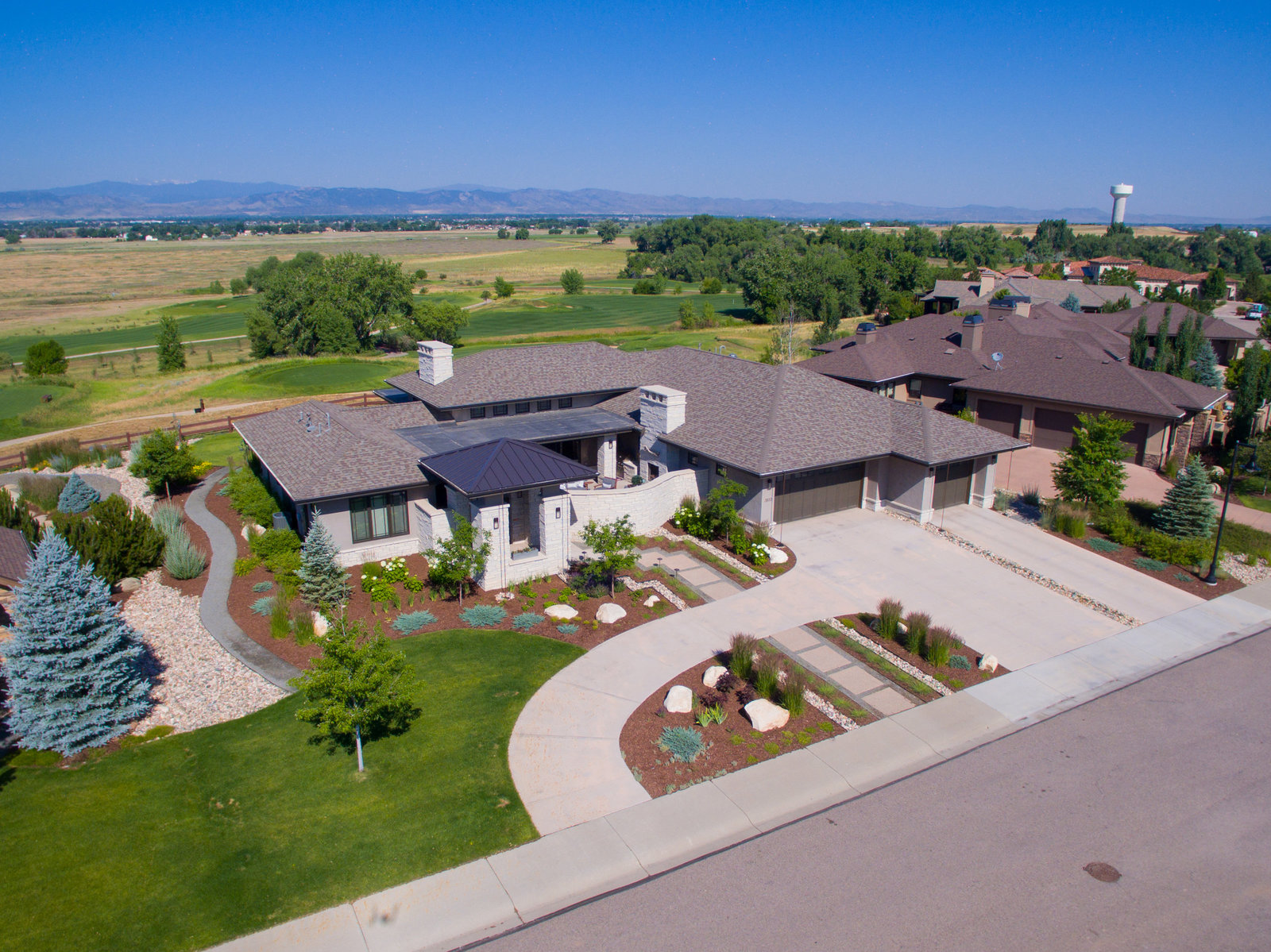 Windsor Colorado Aerial Photo Home 5