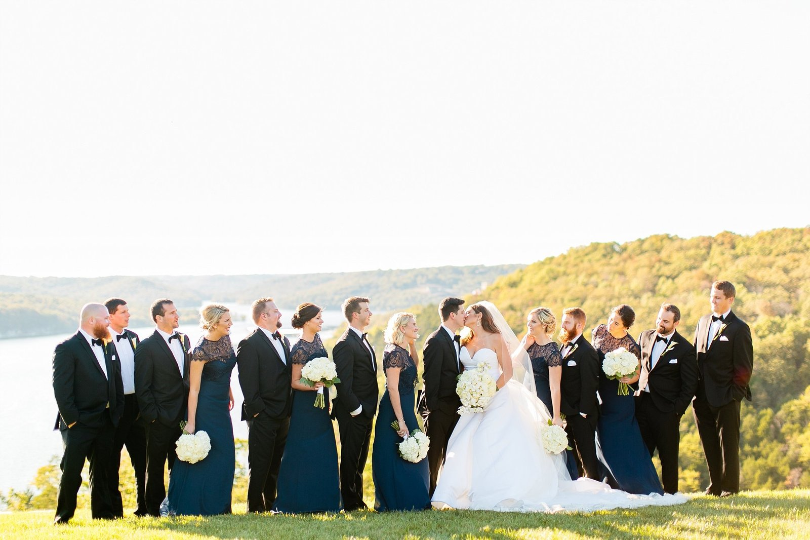 table rock lake bridal party