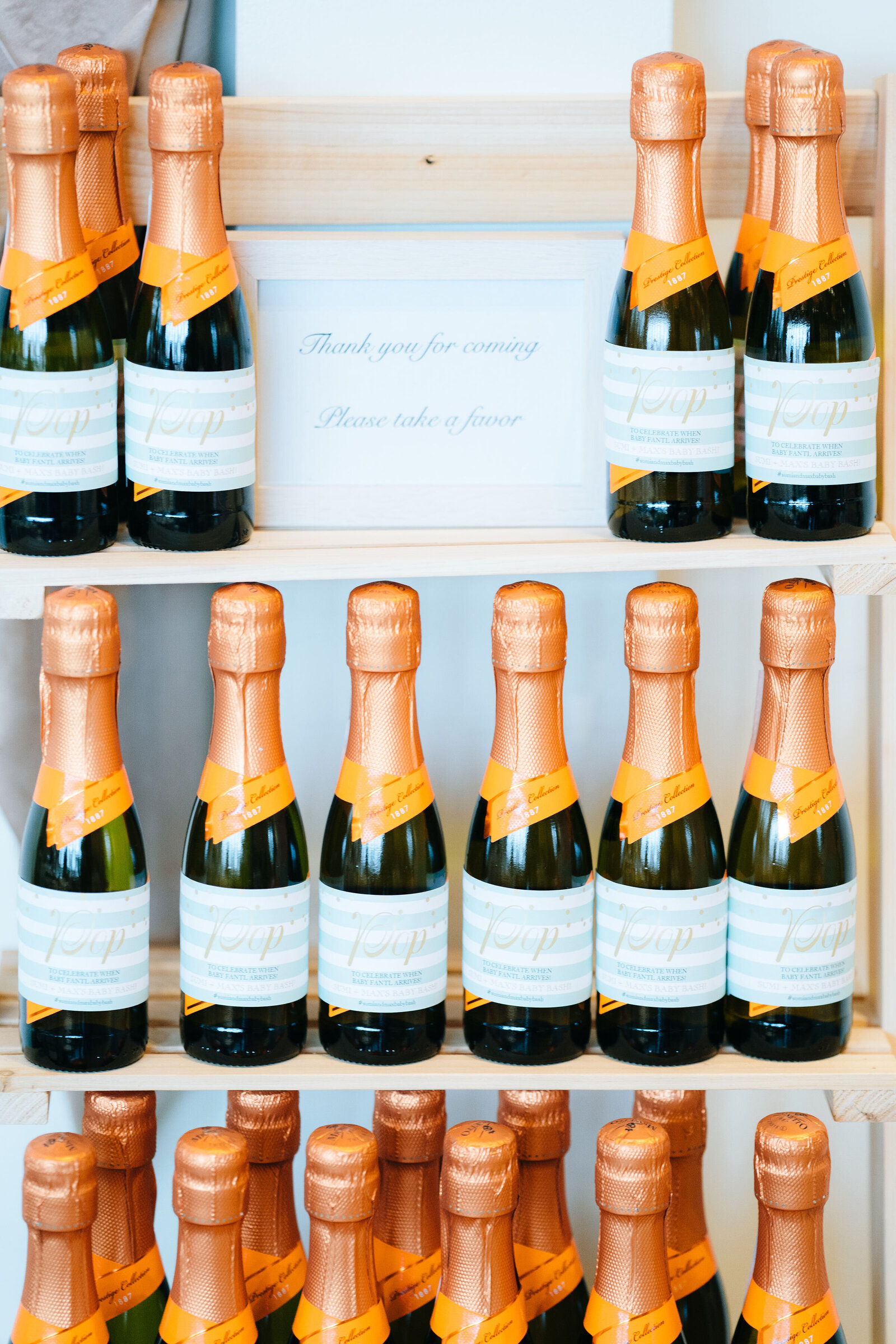 Baby Shower_Champagne Favor