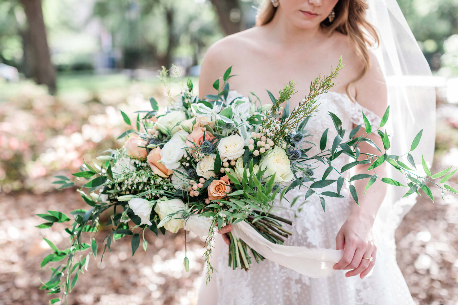 Flowers by Ivory and Beau - Savannah Elopement Package
