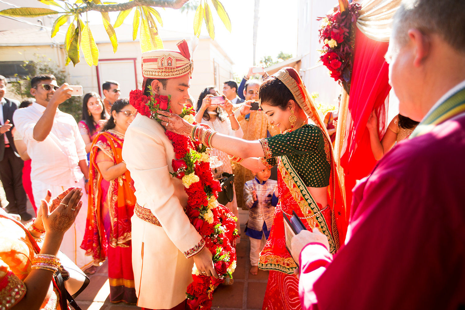 Indian Wedding Ceremony in San Diego