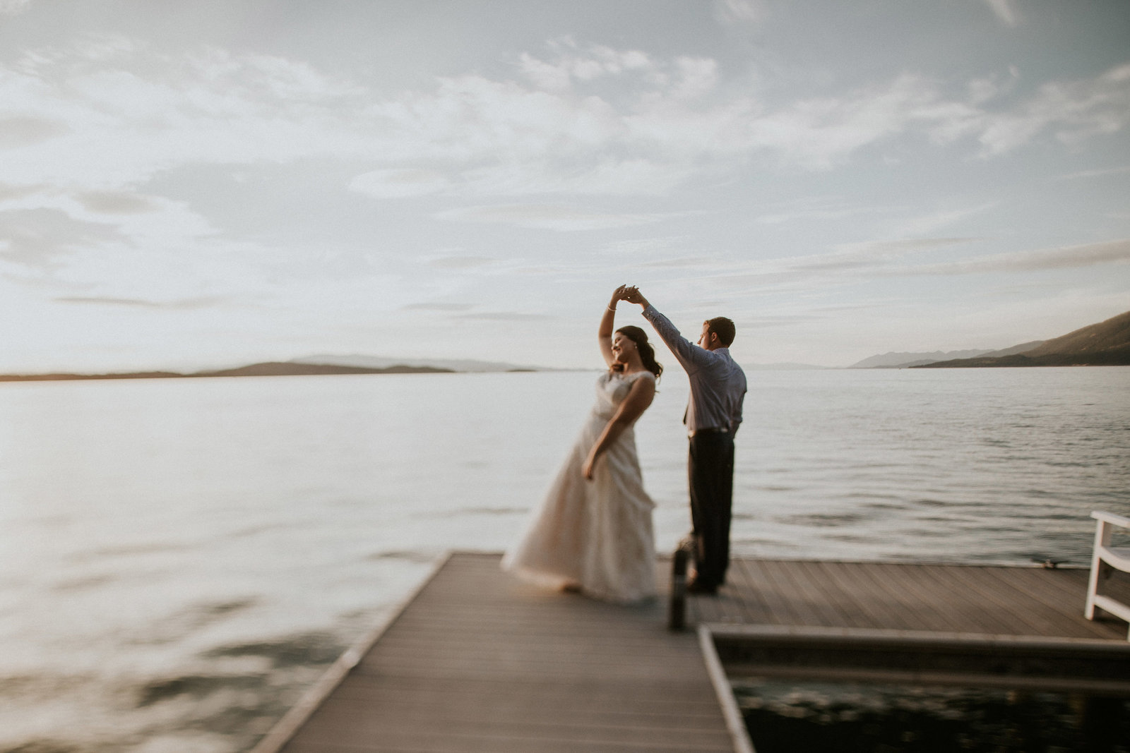 Flathead Lake MT Backyard Wedding