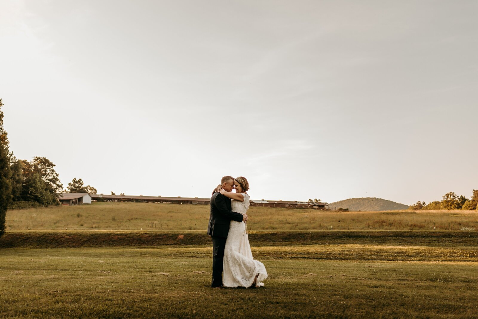 J.Michelle Photography photographs bride and groom portrait