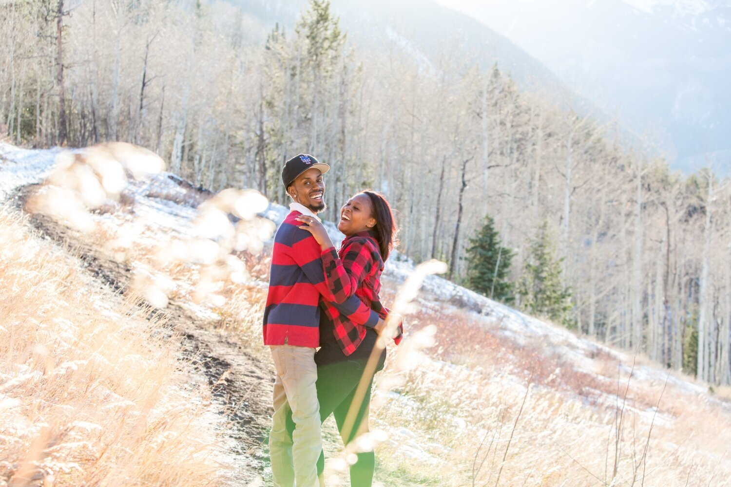 Colorado proposal photography in Snowmass