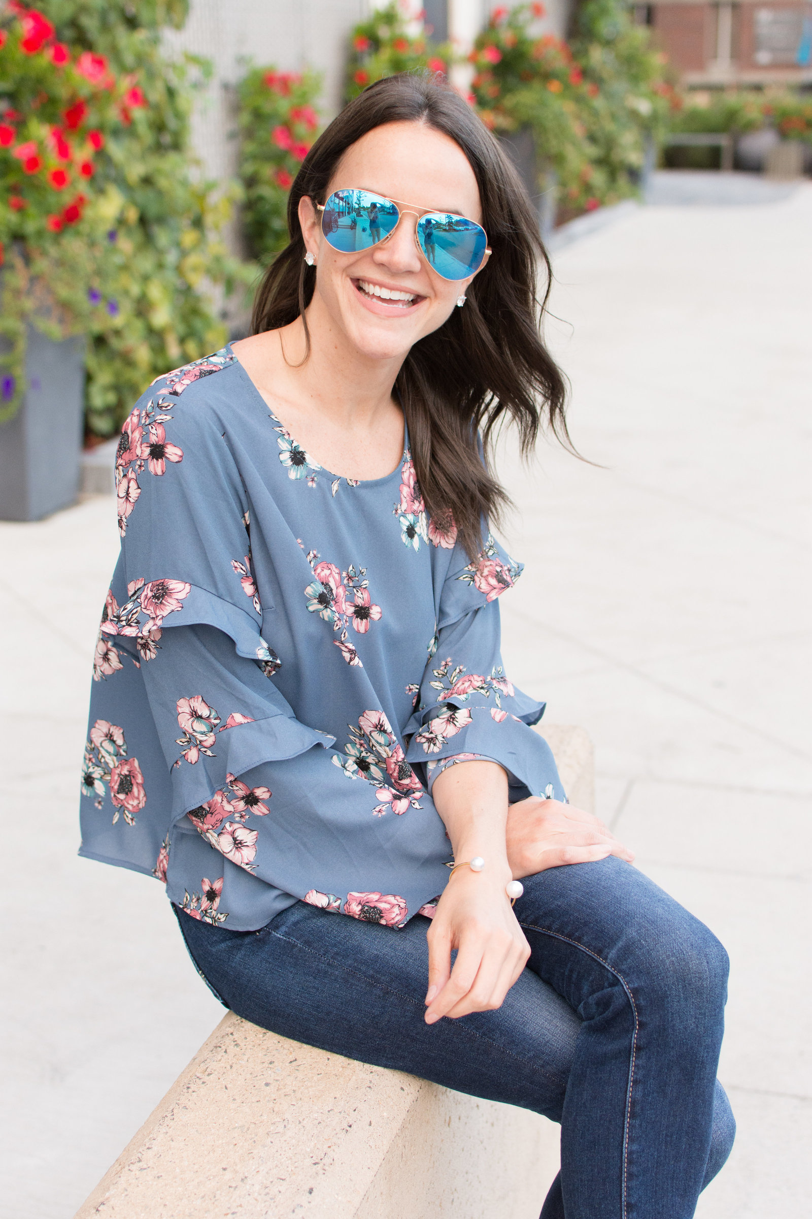 Burlington Floral Top