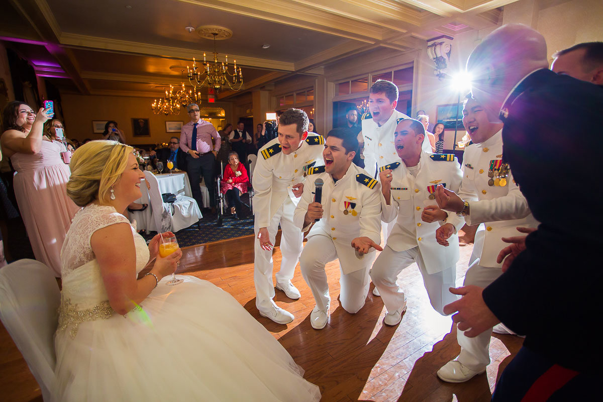 military wedding in maryland frederick thurmont bethesda annapolis