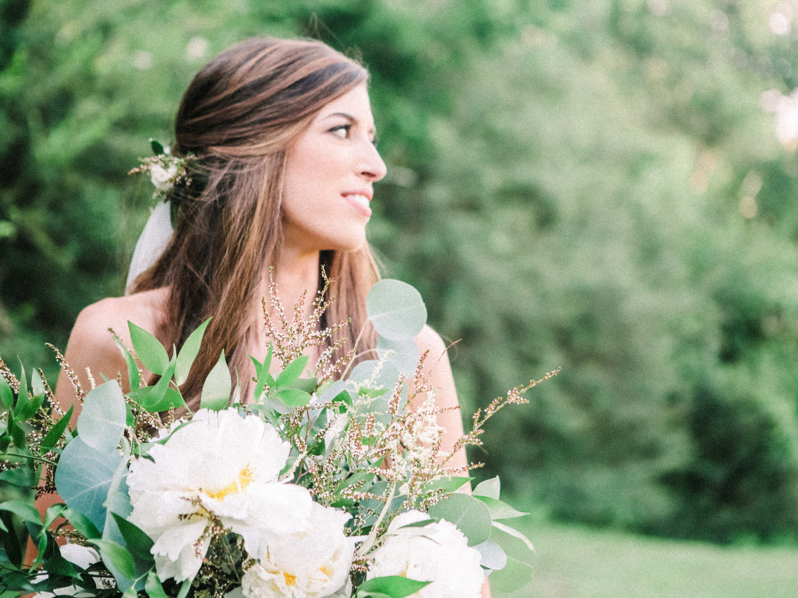 Christa O'Brien Photography Georgia Wedding photographer fine art film  spring bridal