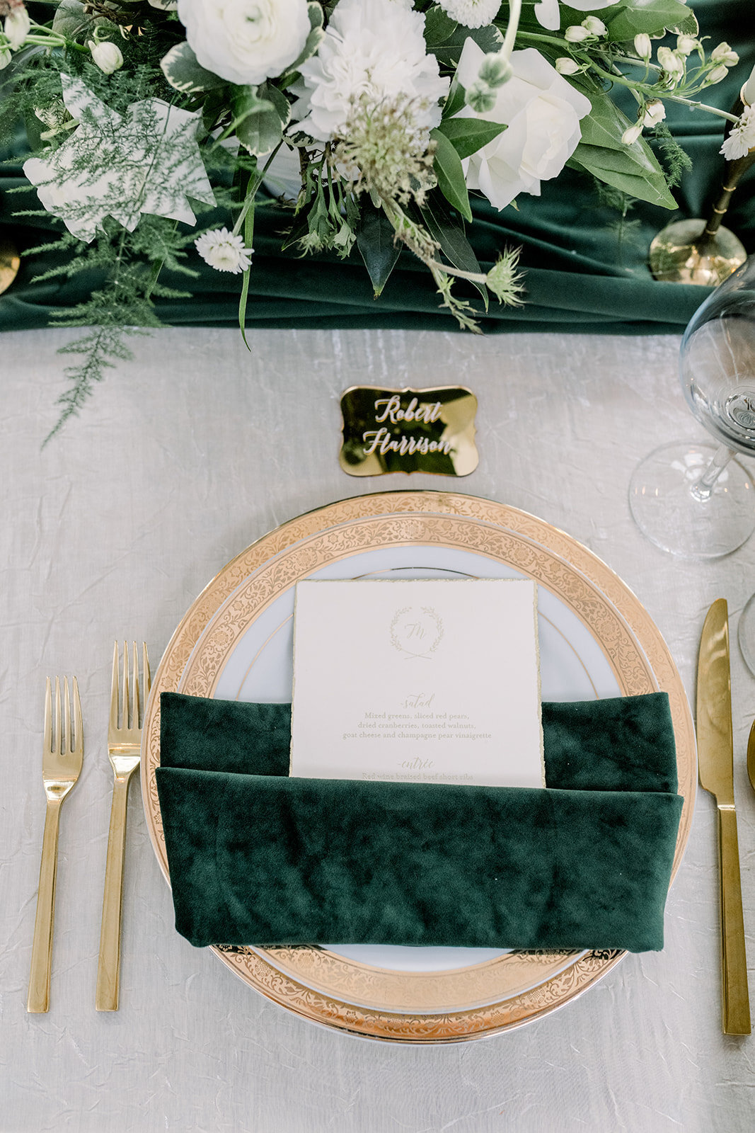 Ritz Charles Emerald Styled Shoot 2020 - Alison Mae Photography - Indianapolis Wedding Photographer-376_websize