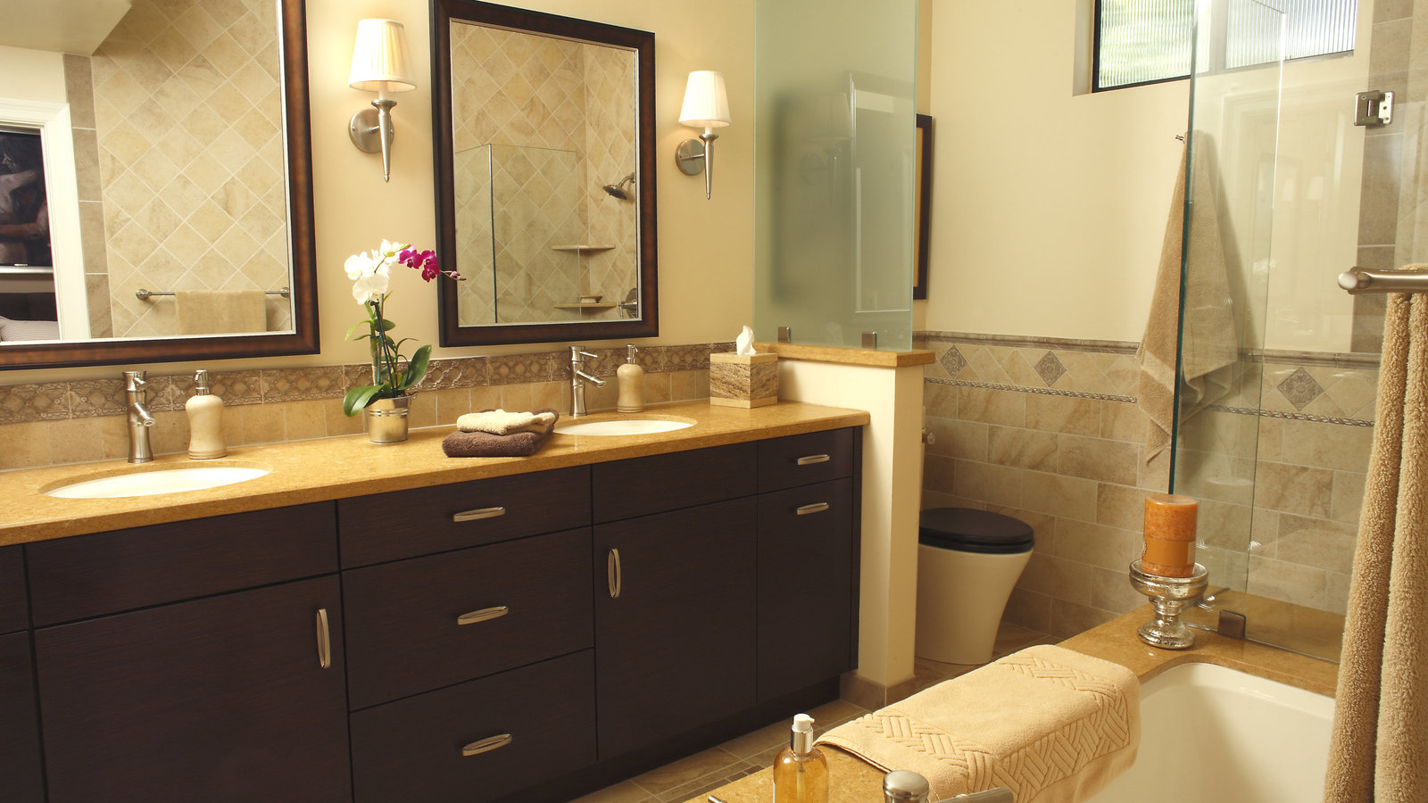 Contemporary Master Bath Design