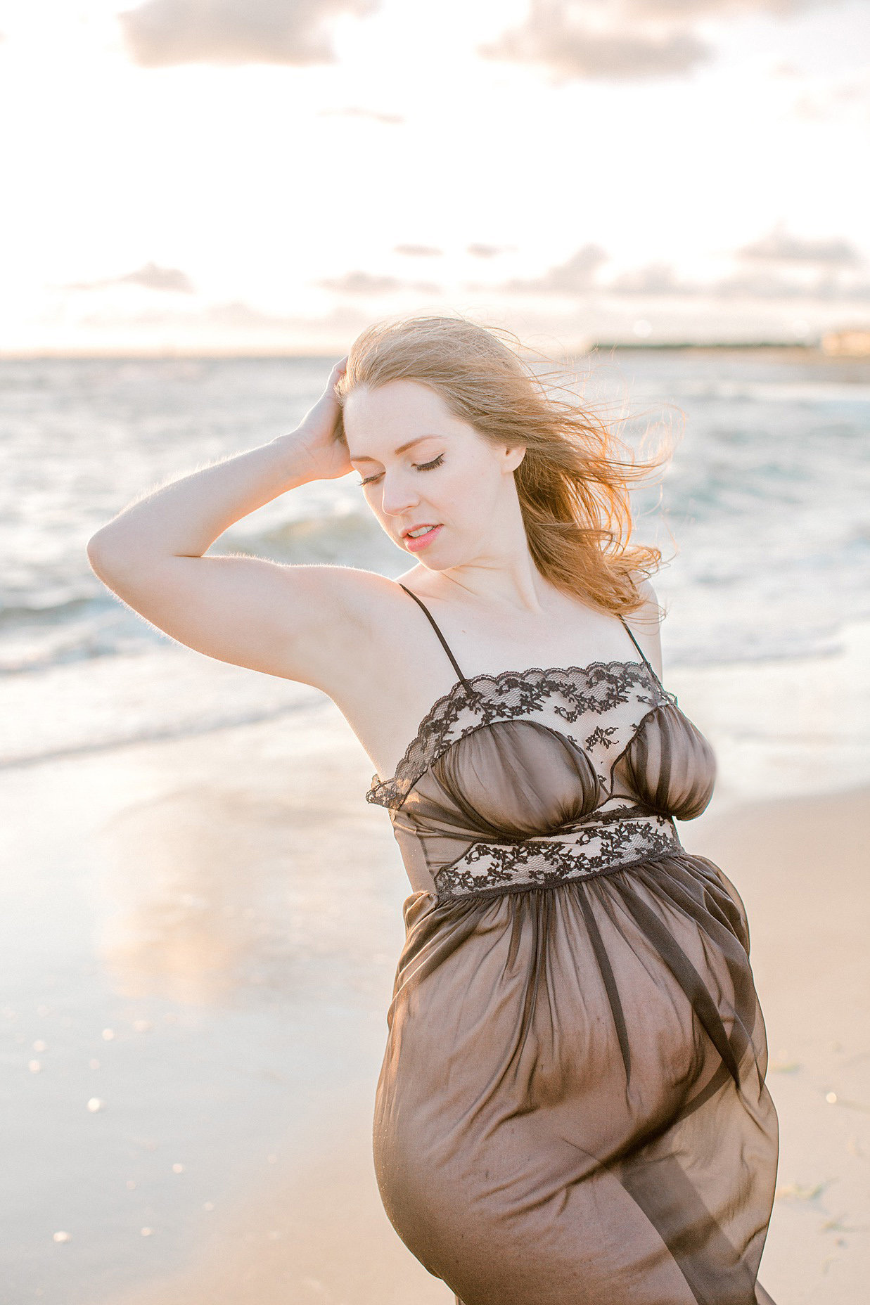 BL Sunrise Beach Maternity Boudoir Hampton Roads VA Norfolk Studio Photographer Yours Truly Portraiture-74