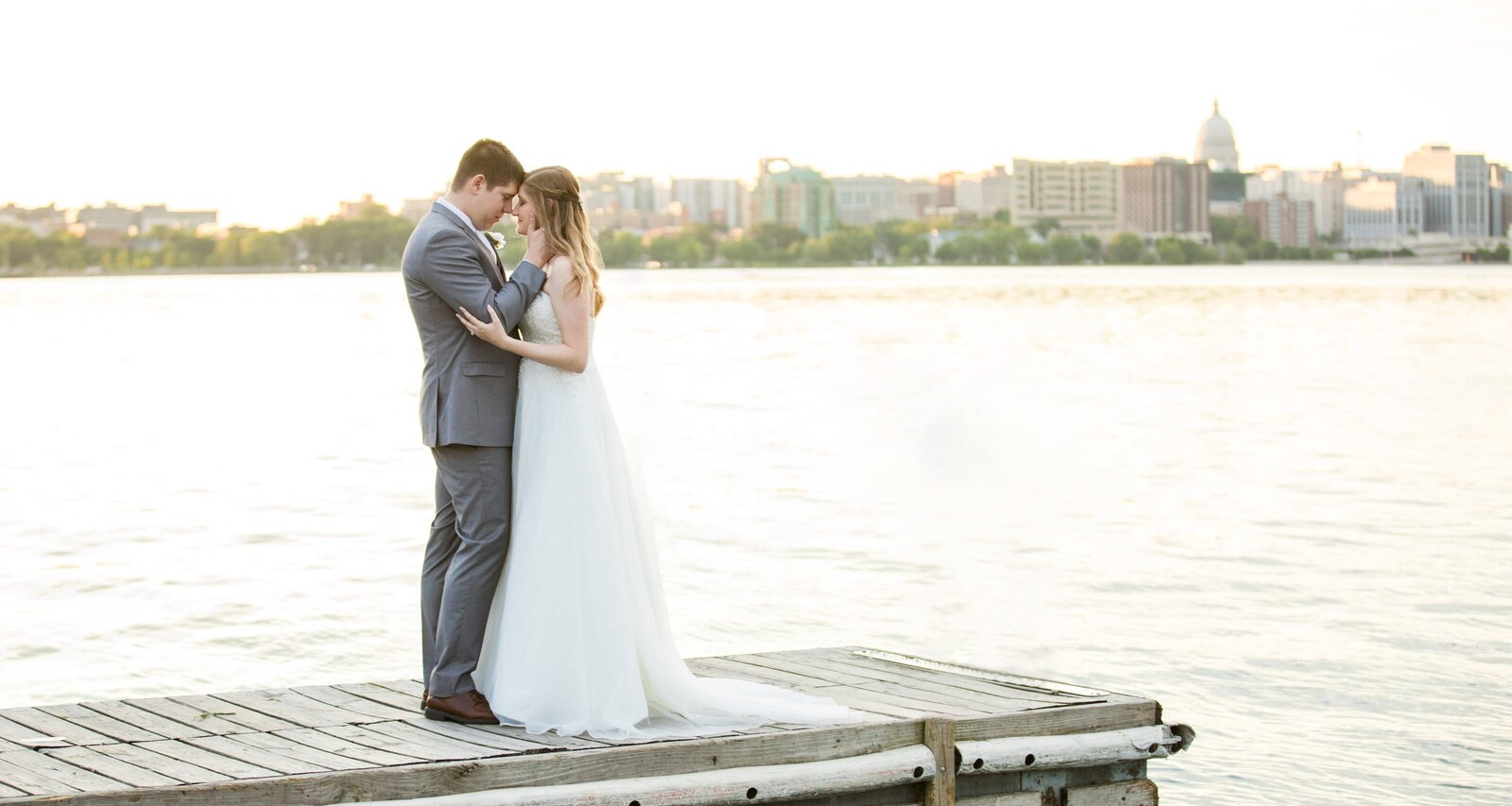 Madison Wedding Photographer - Olin Park Dock