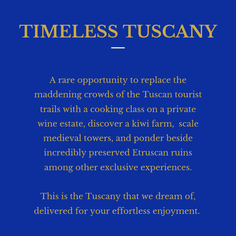 Timeless Tuscany P1 Intro
