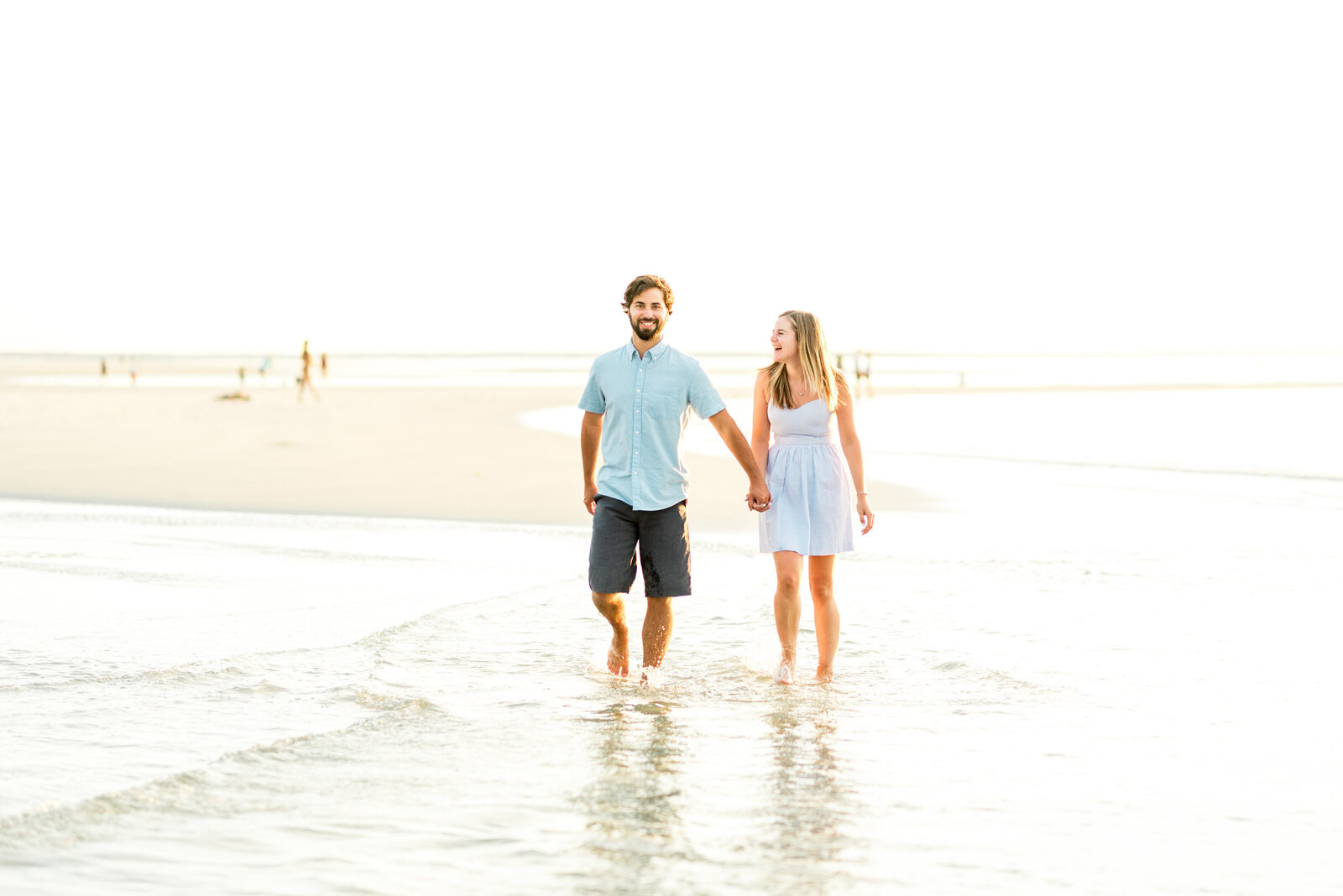 Cape Cod Beach Engagement