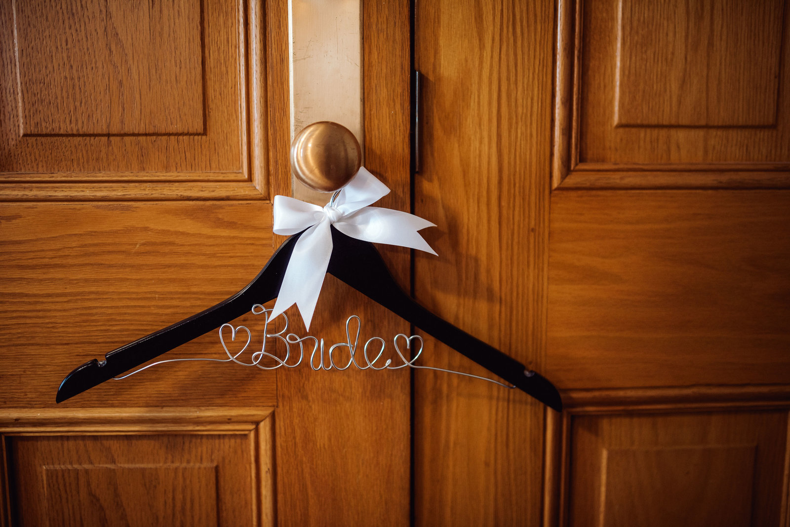 Hanger for a wedding dress / Sterling Imageworks