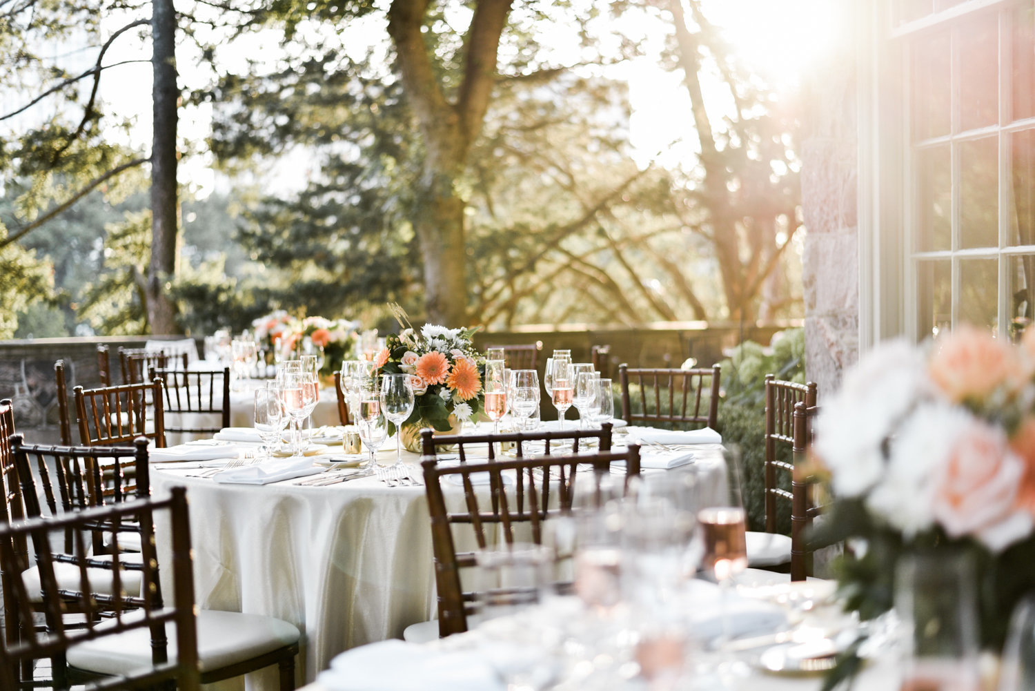 Graydon Hall Wedding Outdoors