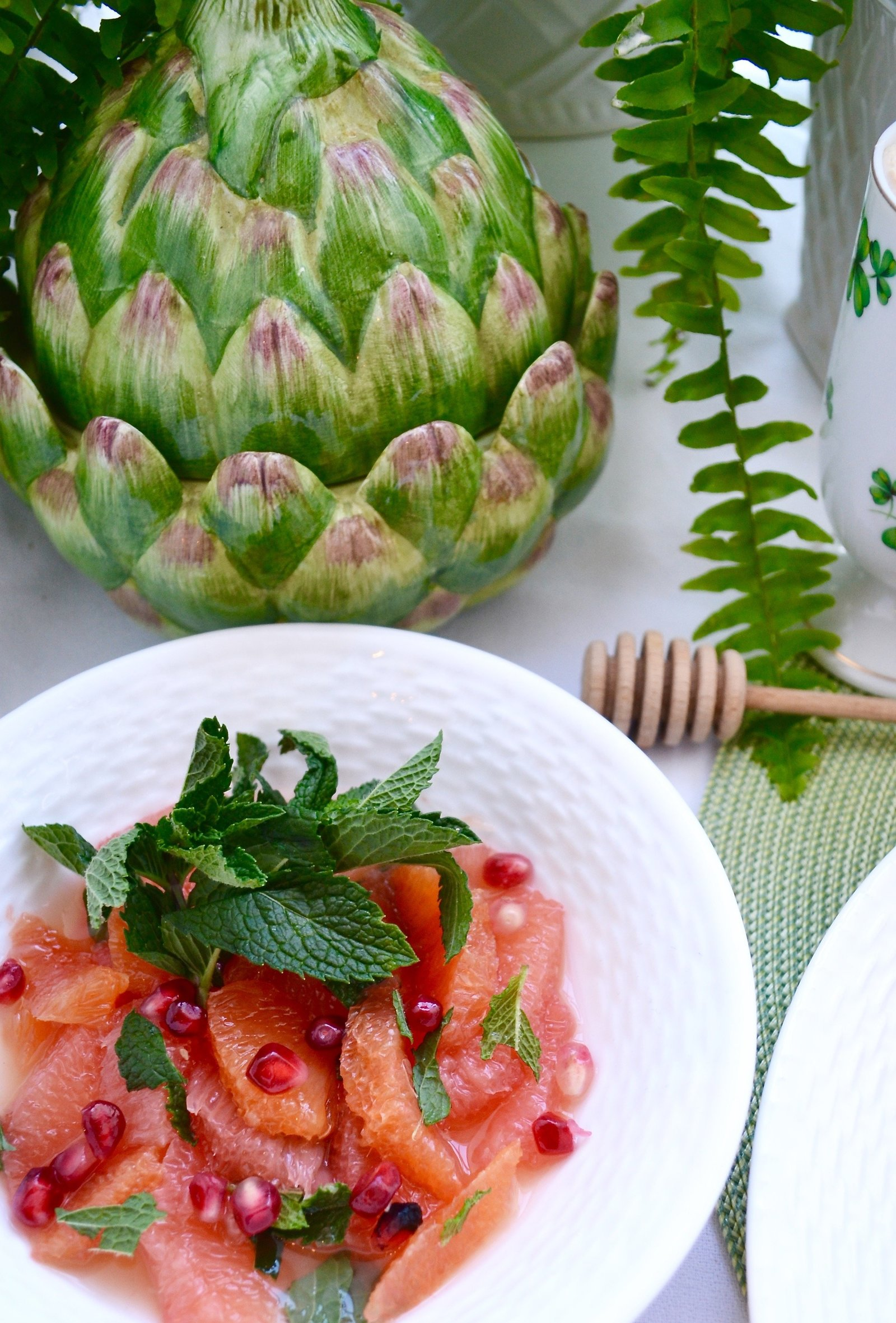 Grapefruit and Citrus Salad with Mint