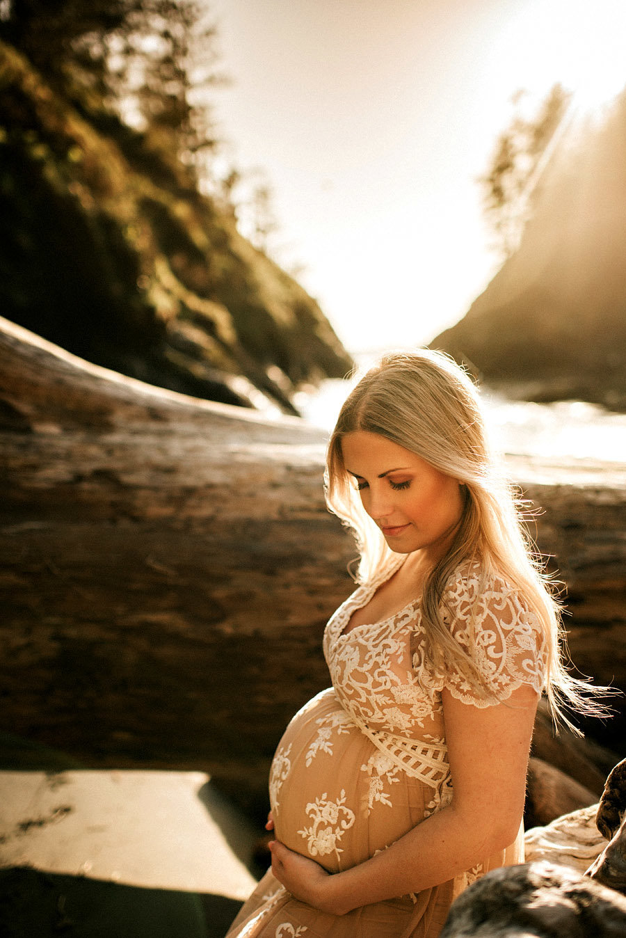 Pregnancy Sunset Photoshoot Minnesota