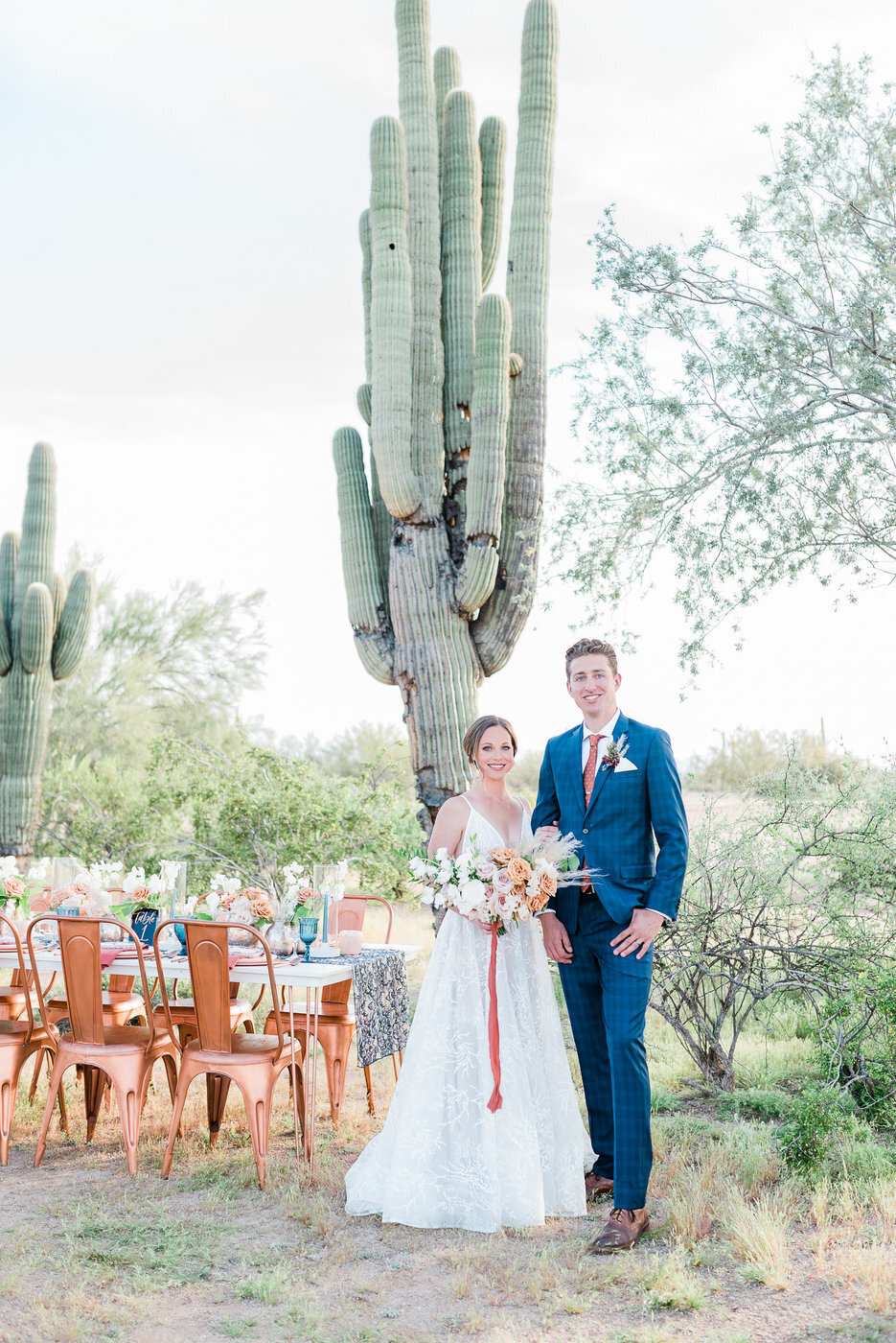 Modern Copper Desert Wedding Styled Shoot 2019-0071