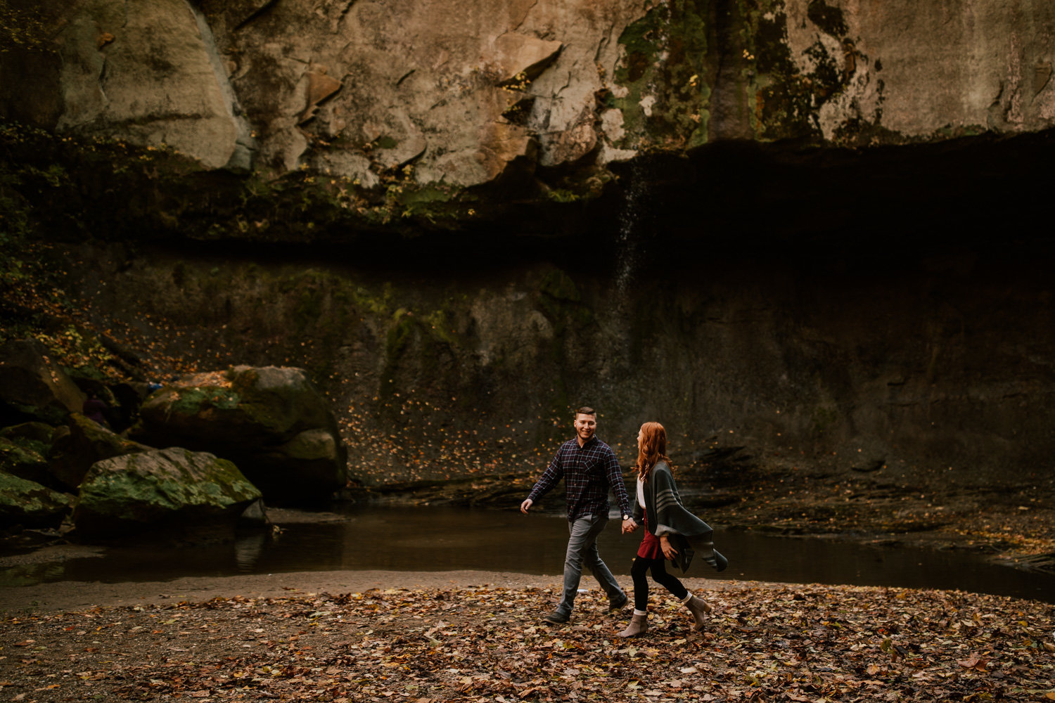 Puppy-Love-engagement-session-williamsport-falls-11