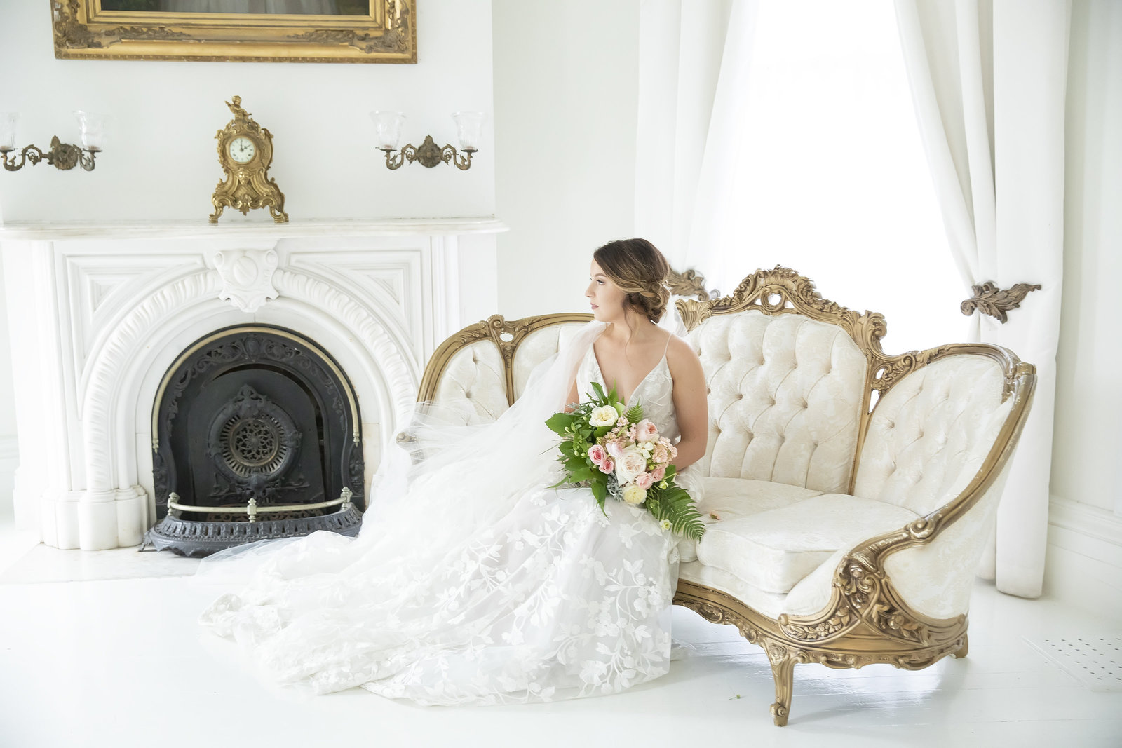 Wedding at Nottoway Plantation in Louisiana