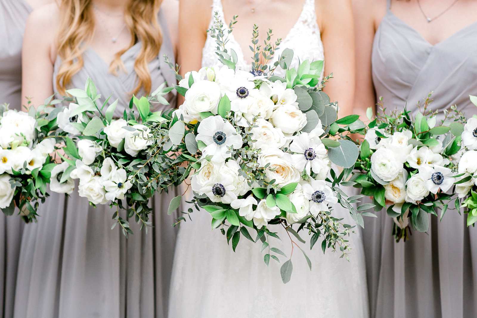 White and Greenery Bouquet at Park31
