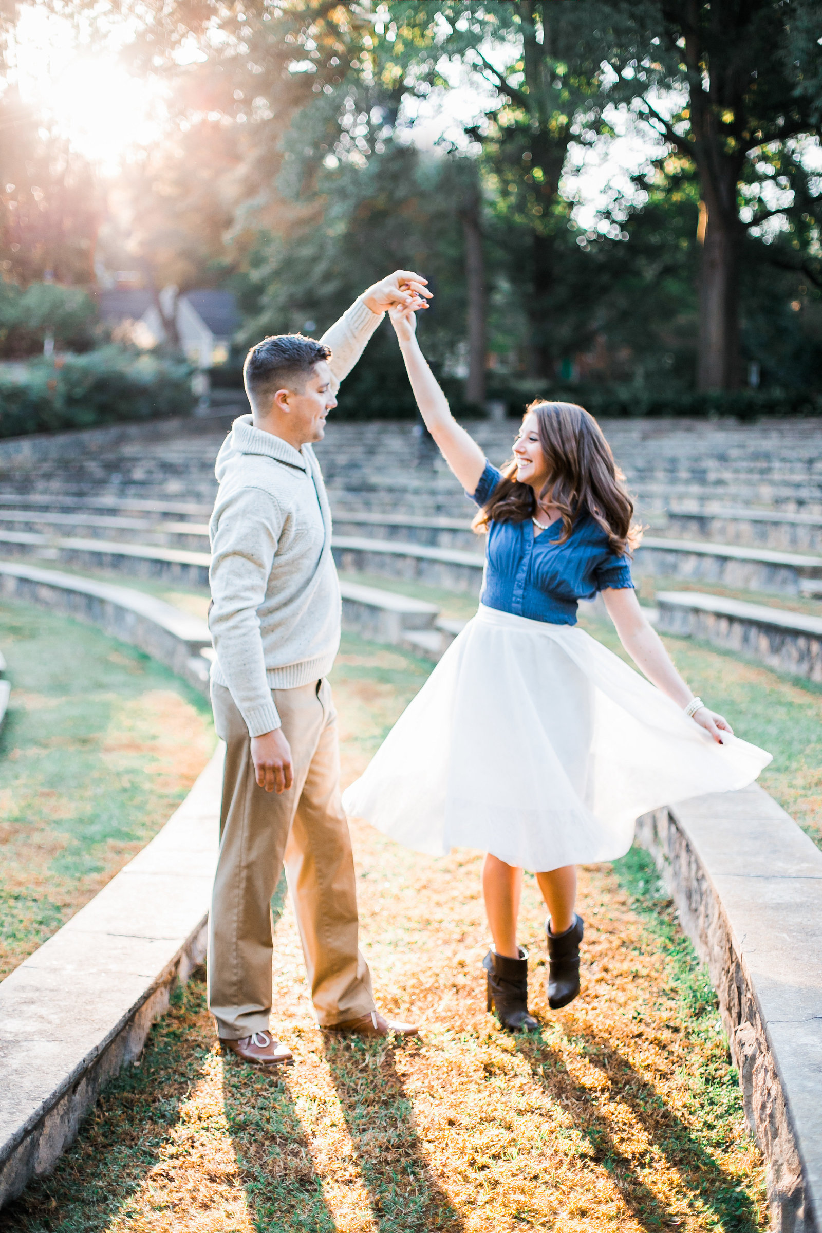 Raleigh Couples Engagement Photographer