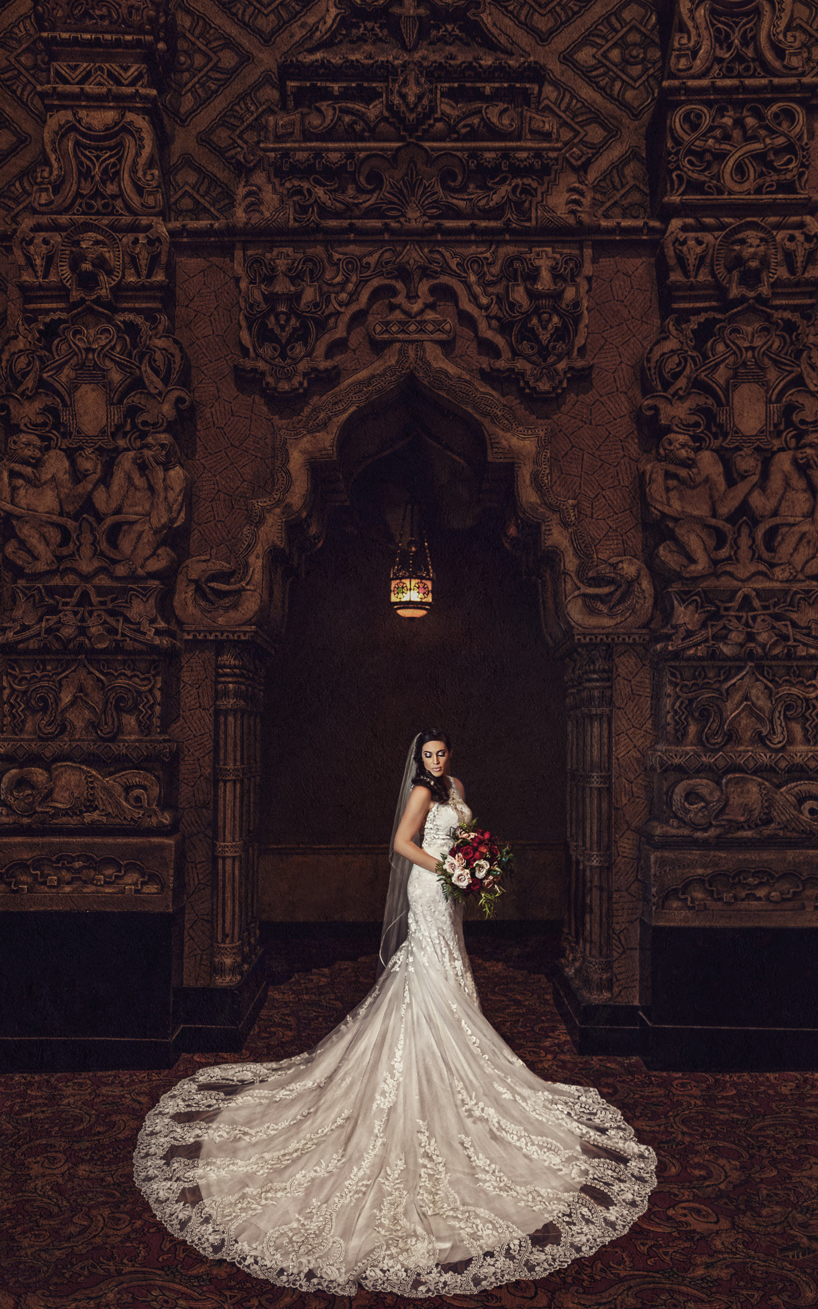 Fabulous Fox Theatre St. Louis Wedding Photography Andrew Joseph