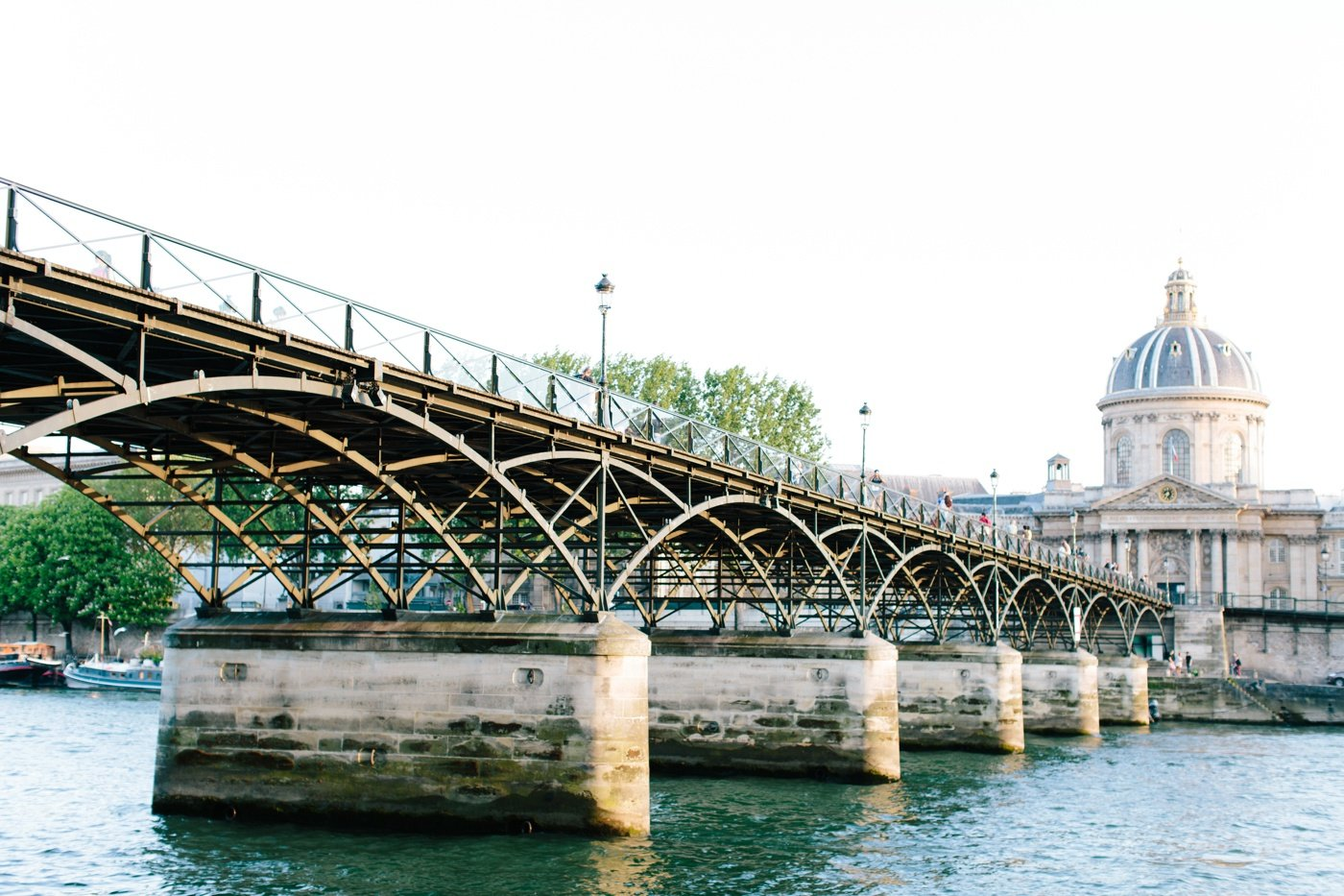 Photo of bridge over the Seine in Paris_0001