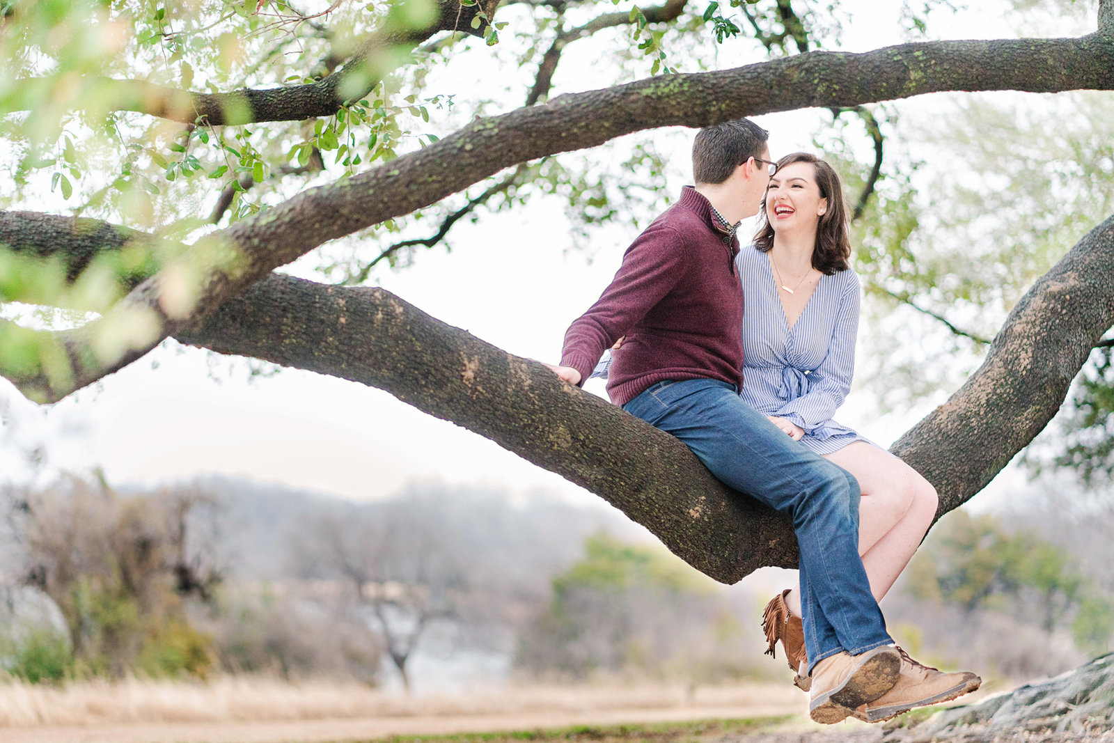 White Rock Lake Dallas Engagement Shoot Session 027 redone