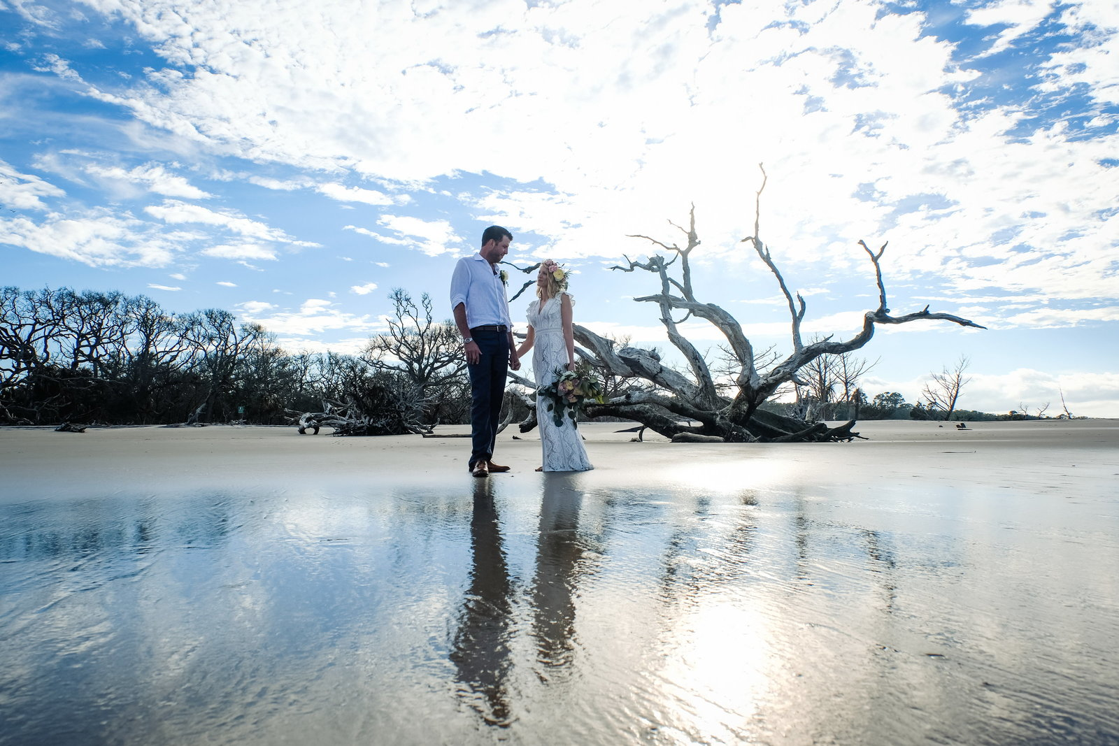 Driftwood Beach Weddings, Bobbi Brinkman Photography